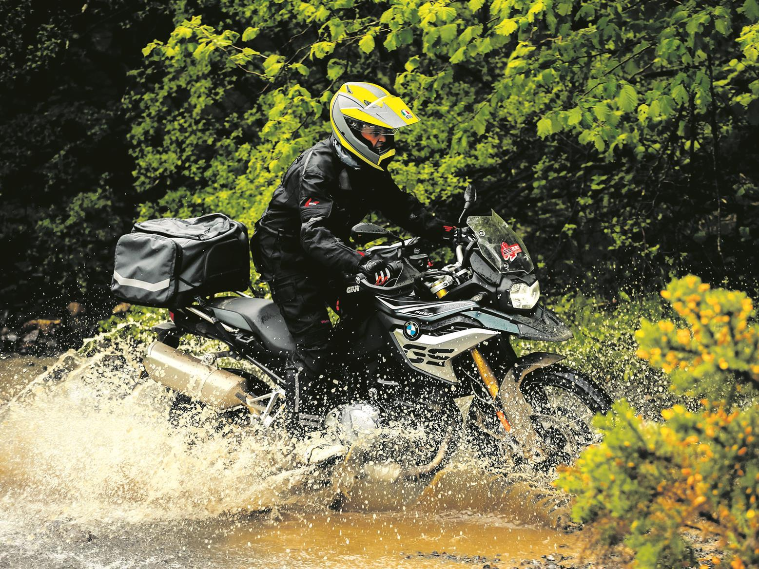 BMW GS water crossing
