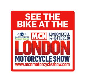 See this bike, and many others, at the 2020 Carole Nash MCN London Motorcycle Show!