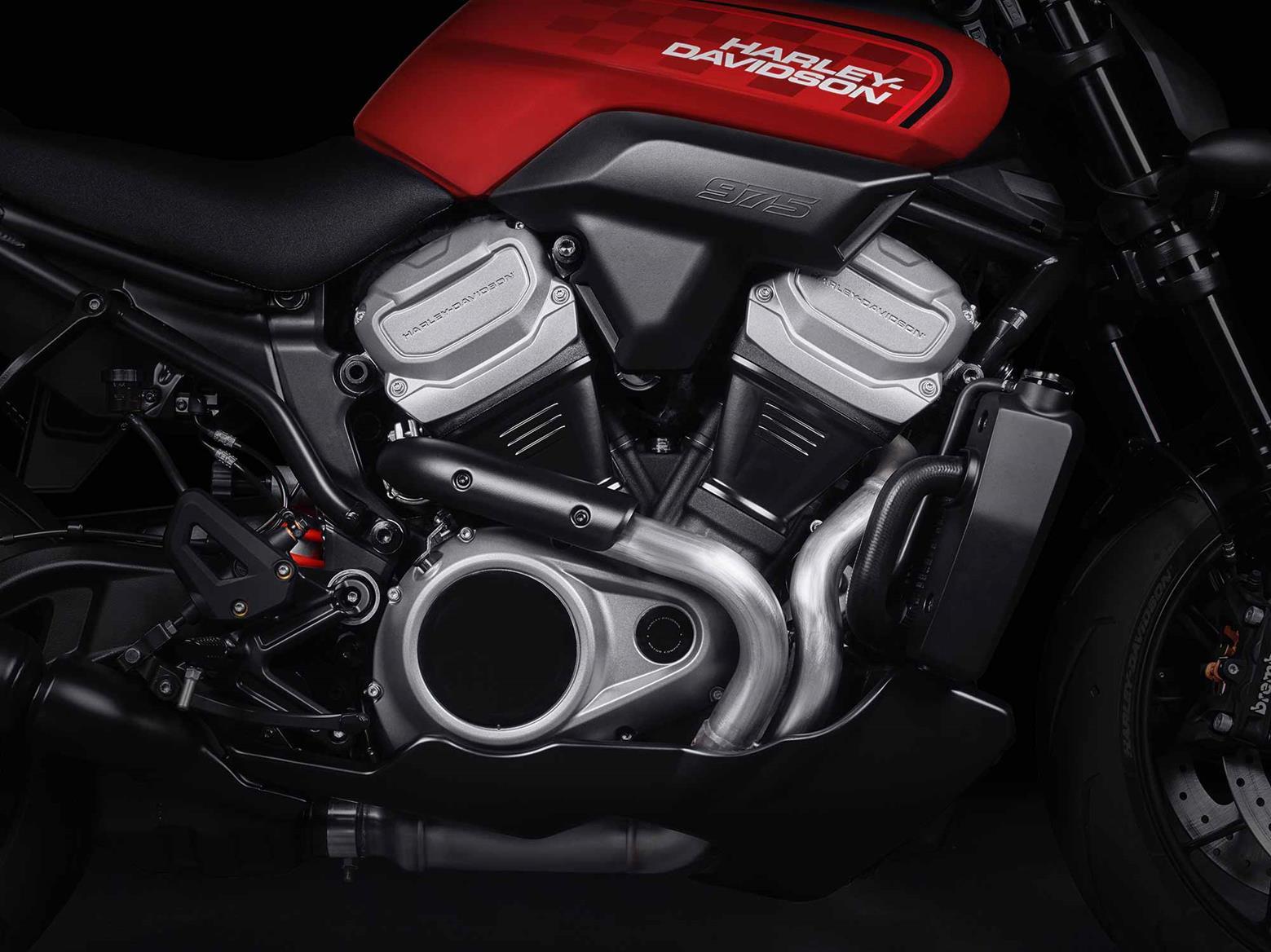 Harley-Davidson 'Bronx' V-Twin engine