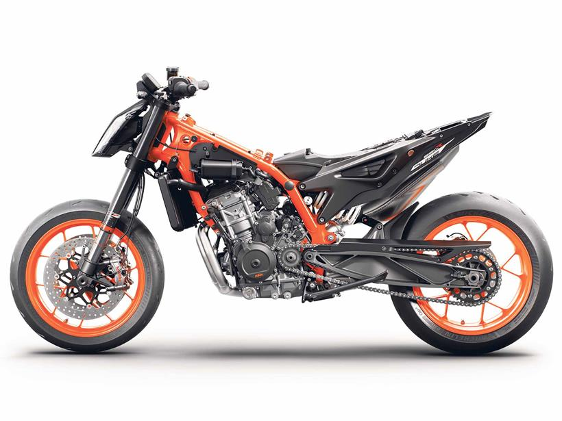 Under the skin of the KTM 890 Duke R
