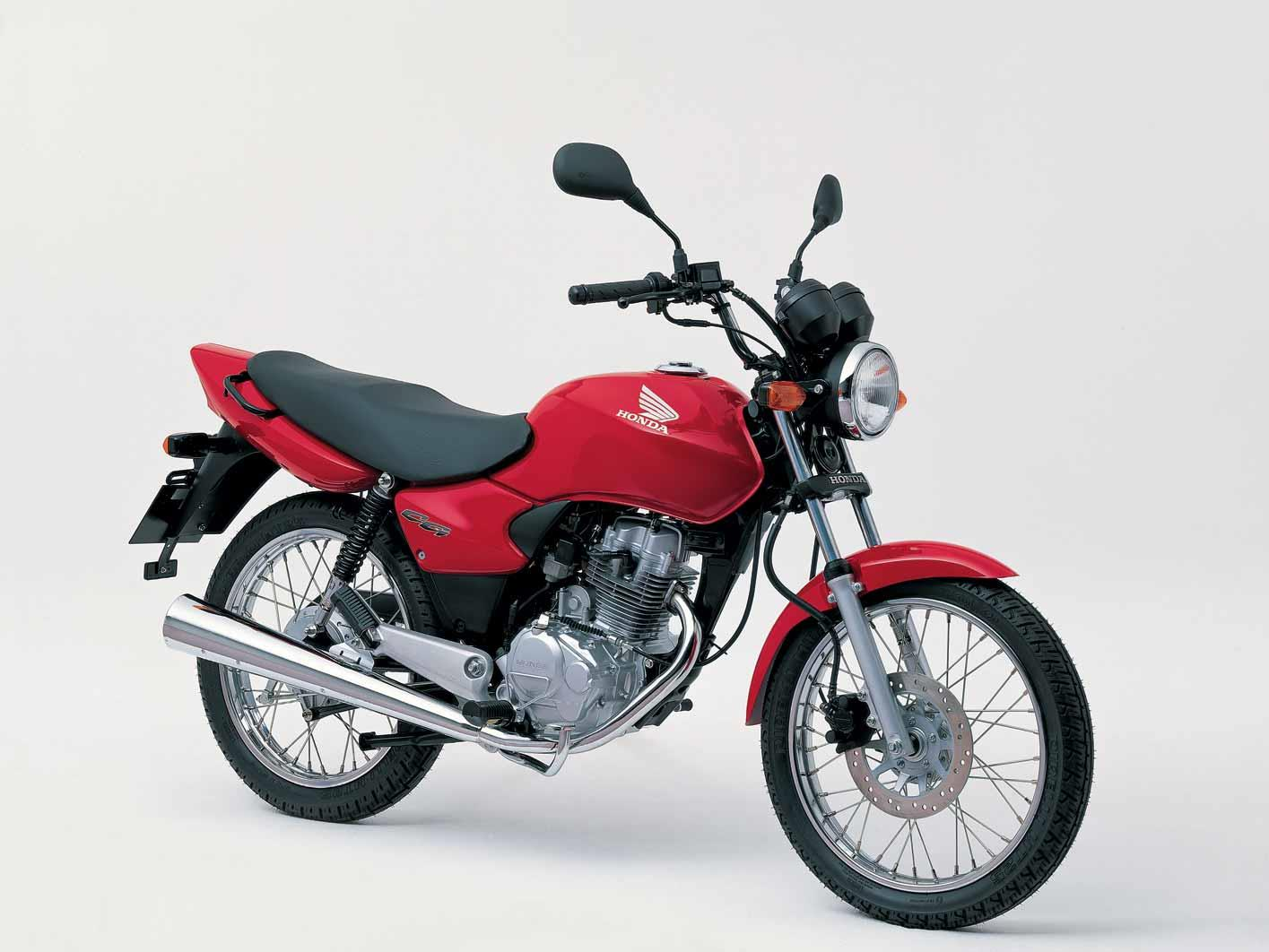 A side view of the Honda CG125