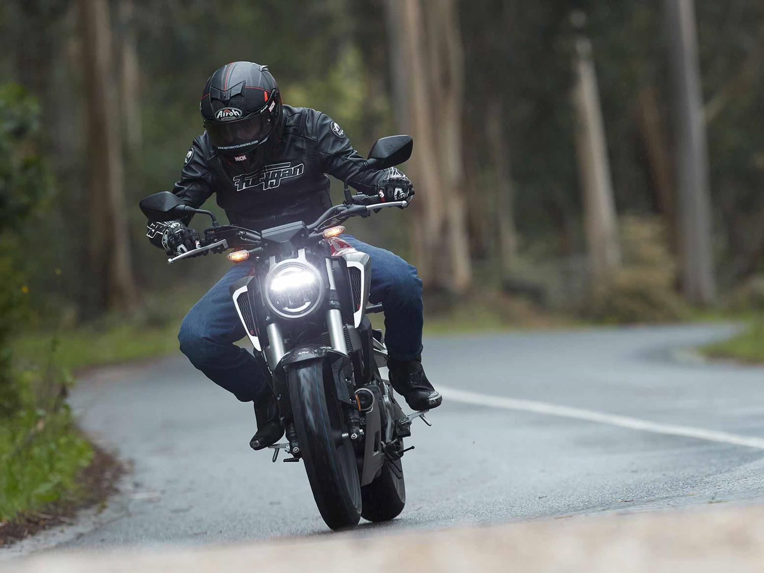 Cornering on the Honda CB125R