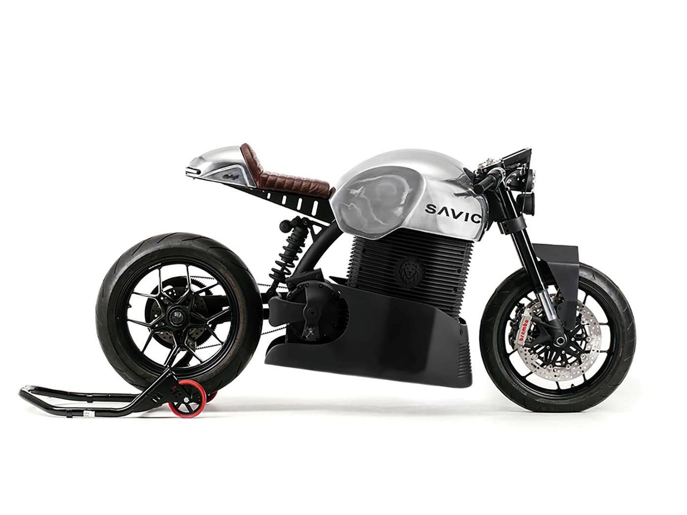 Savic electric motorbike profile