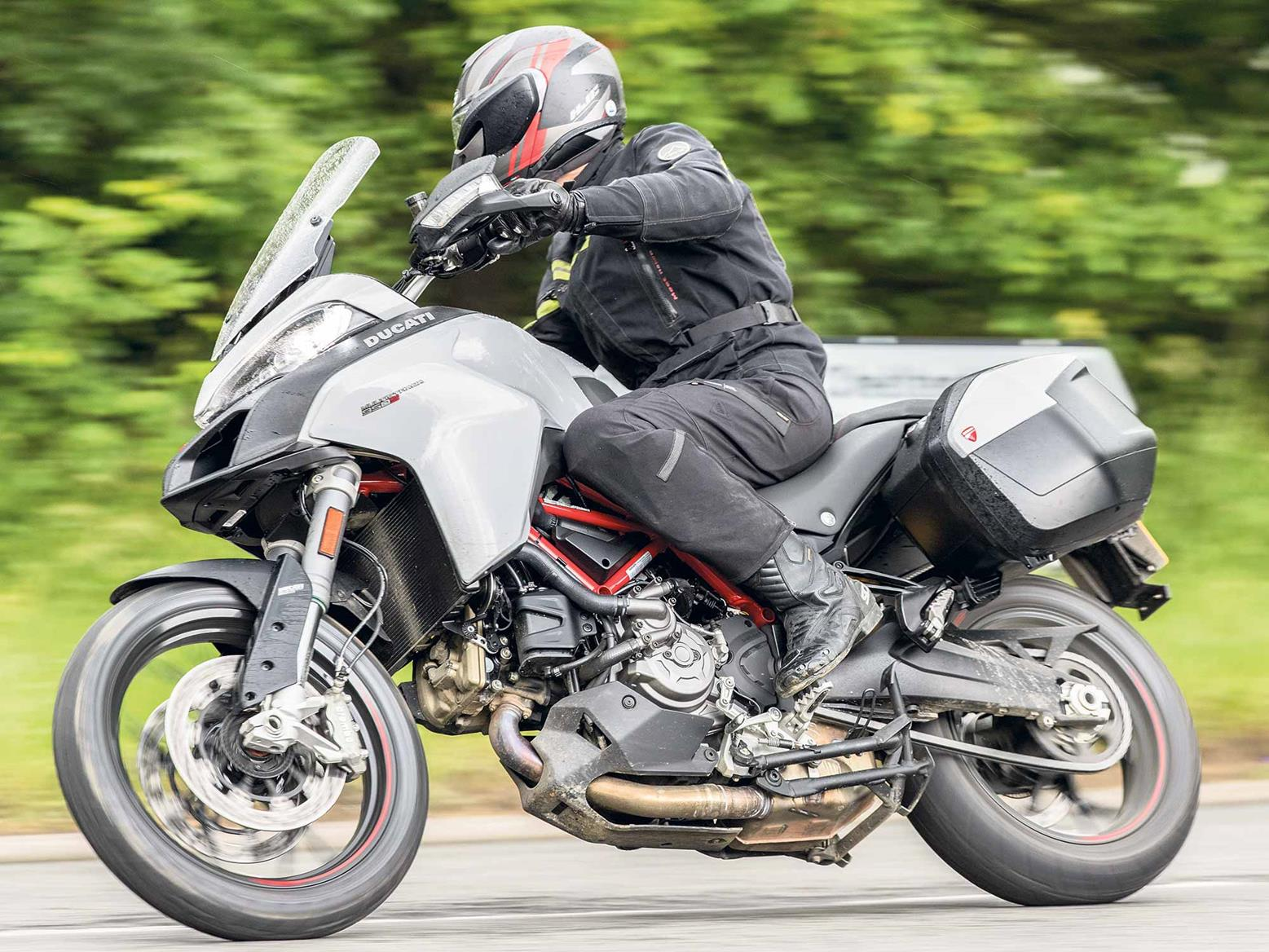 The Ducati Multistrada 950S is included