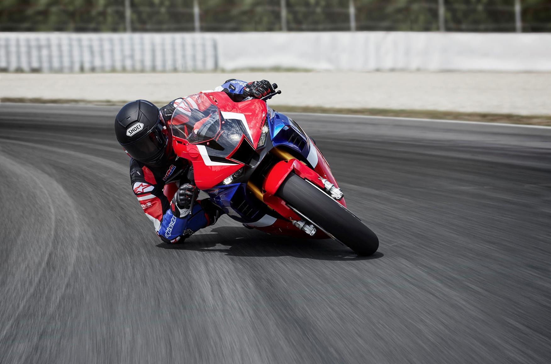 Marc Marquez riding Honda's CBR1000RR-R SP