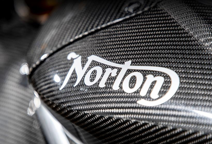 Norton tank badge