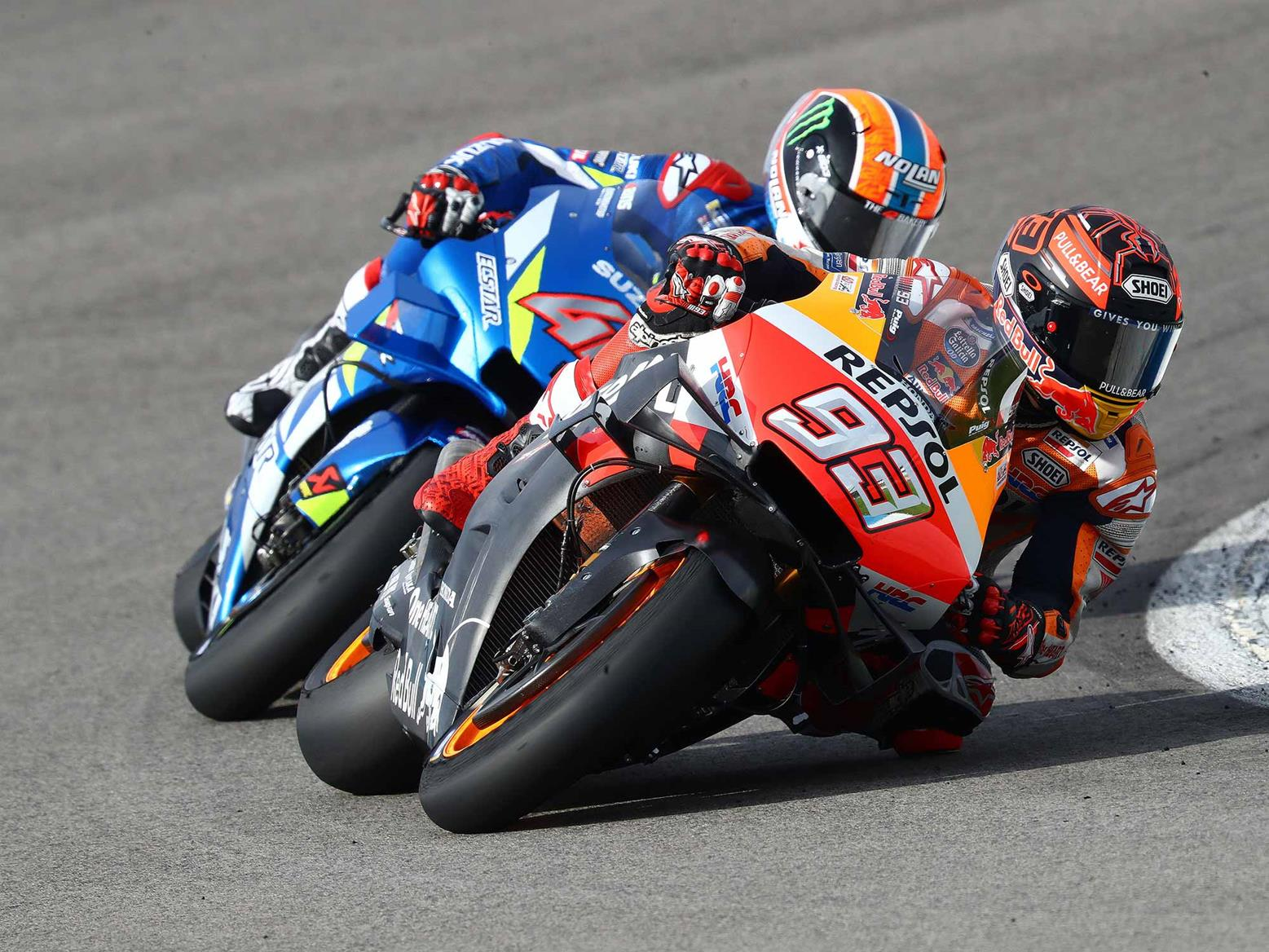 Marquez leads the way at Jerez Test