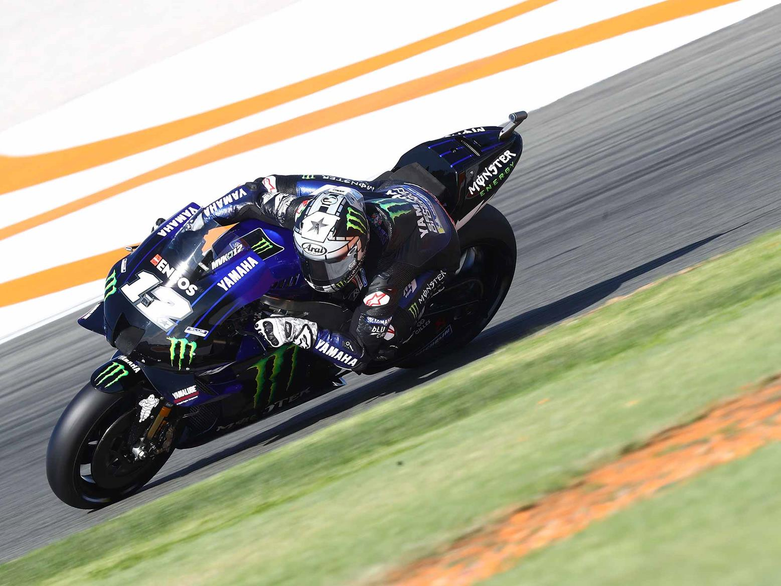 Vinales led the way at Jerez after the morning stint