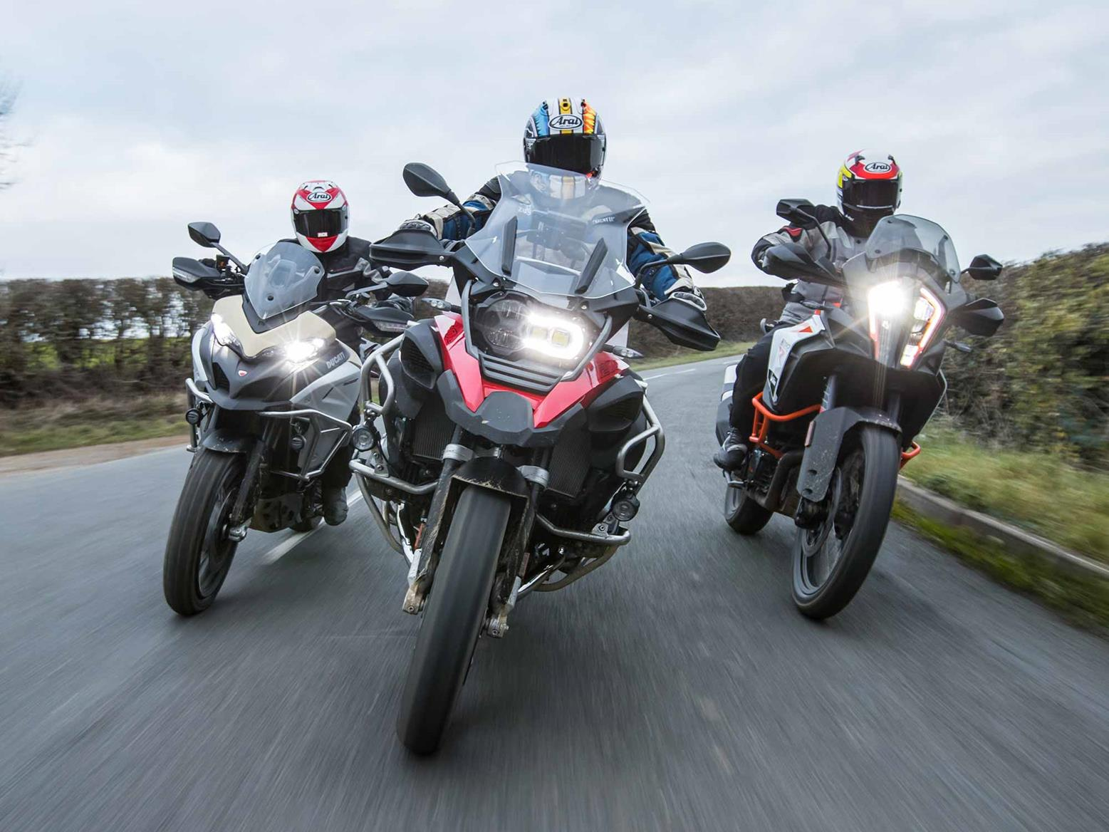 BMW R1200GS Adventure and its closest rivals