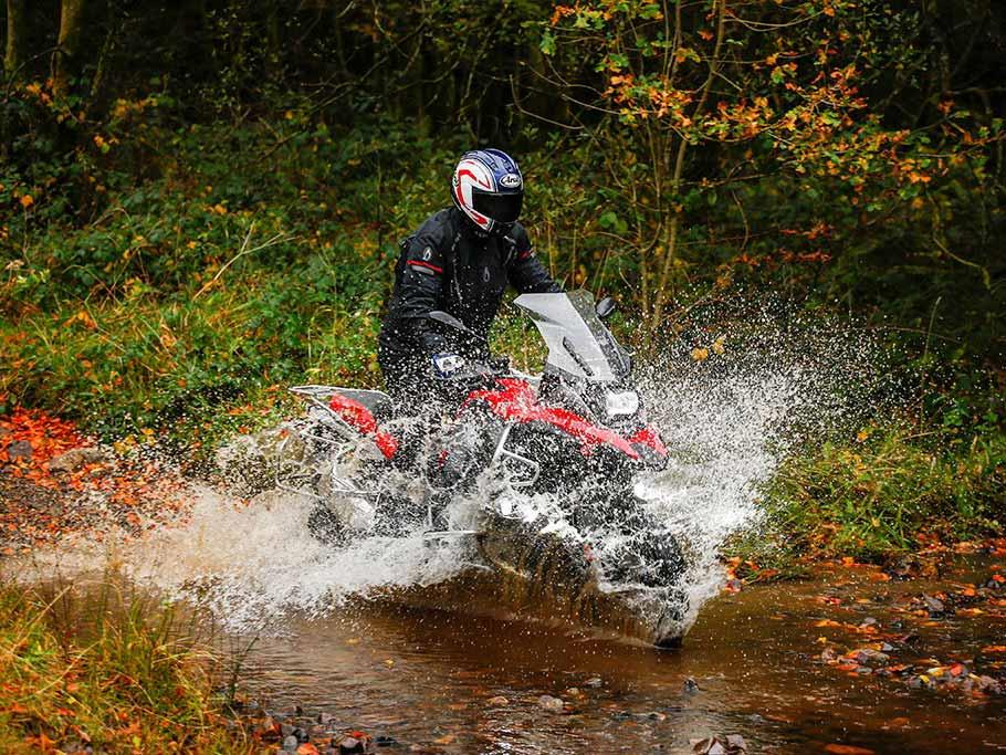 Making a splash on the BMW R1200GS Adventure