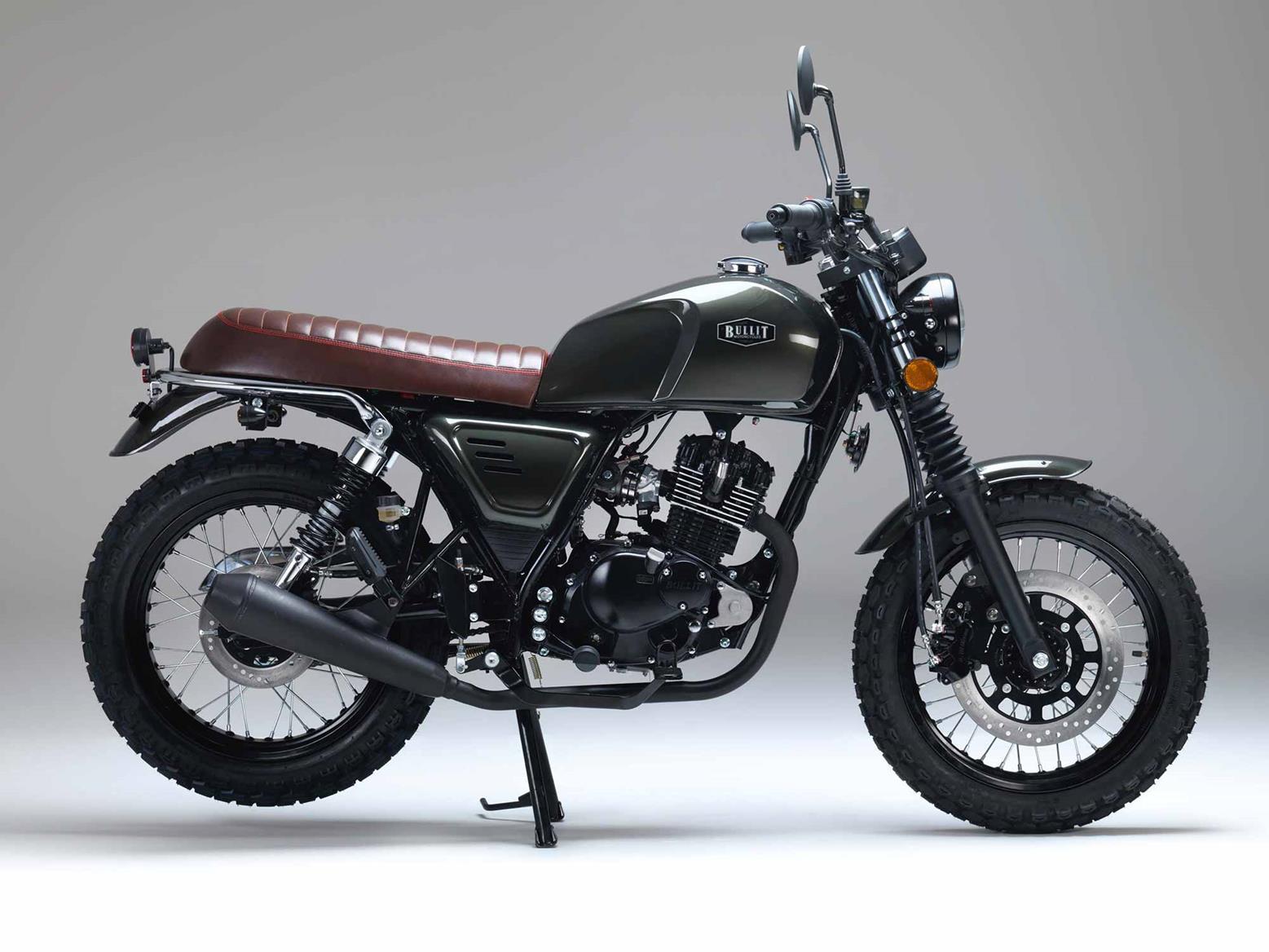 Bullit Bluroc 125 side-on view