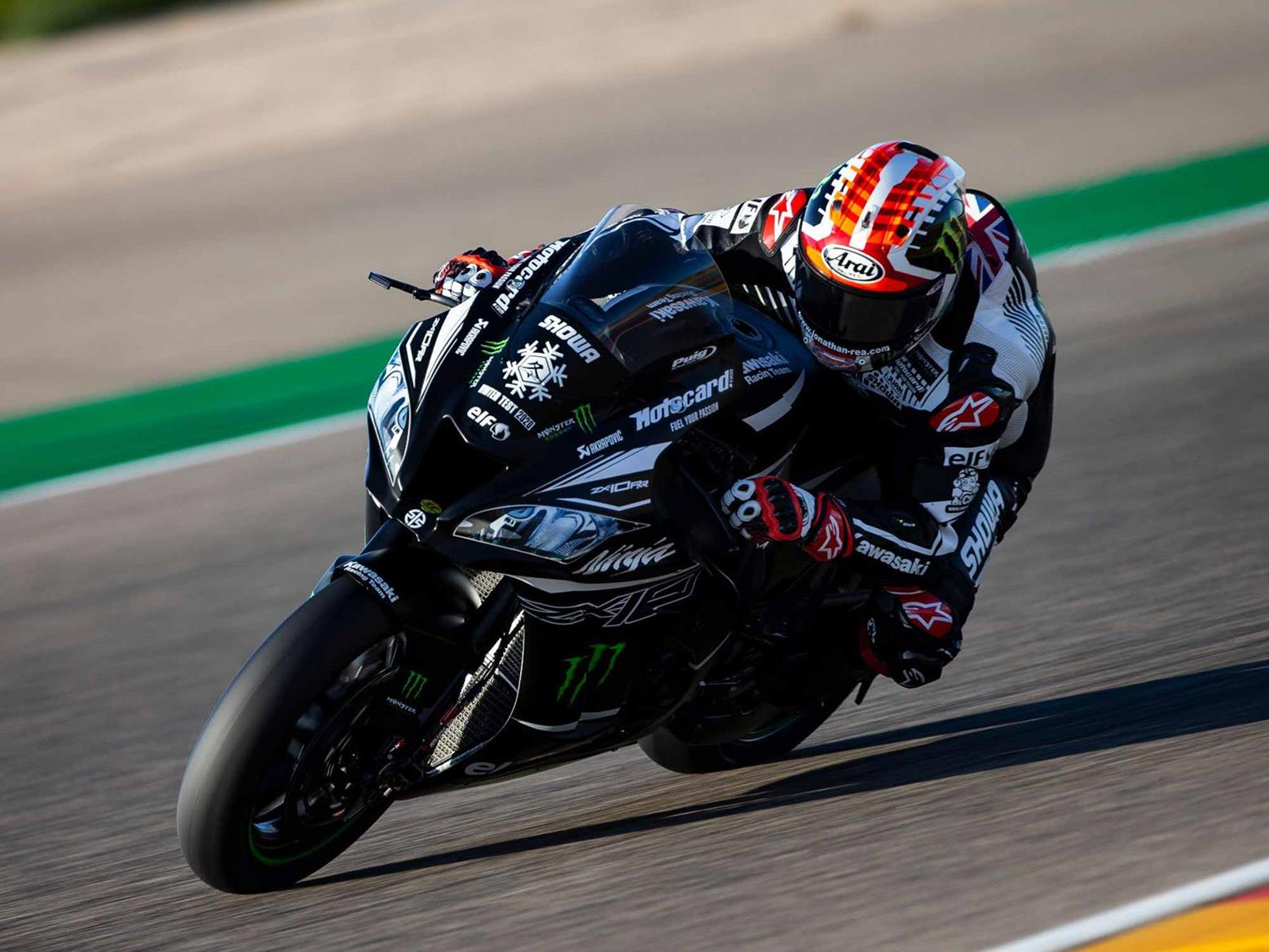 Jonathan Rea tops WSB Jerez Test day one