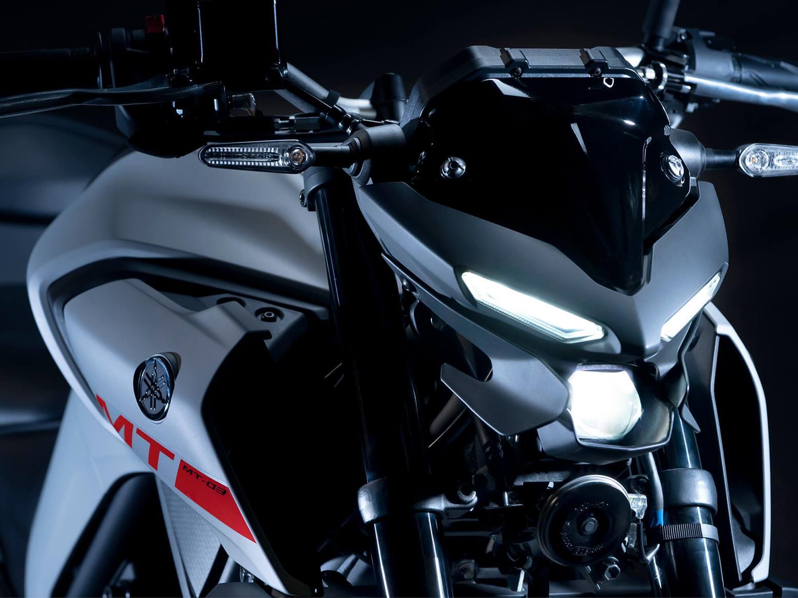 2020 Yamaha MT-03 headlight