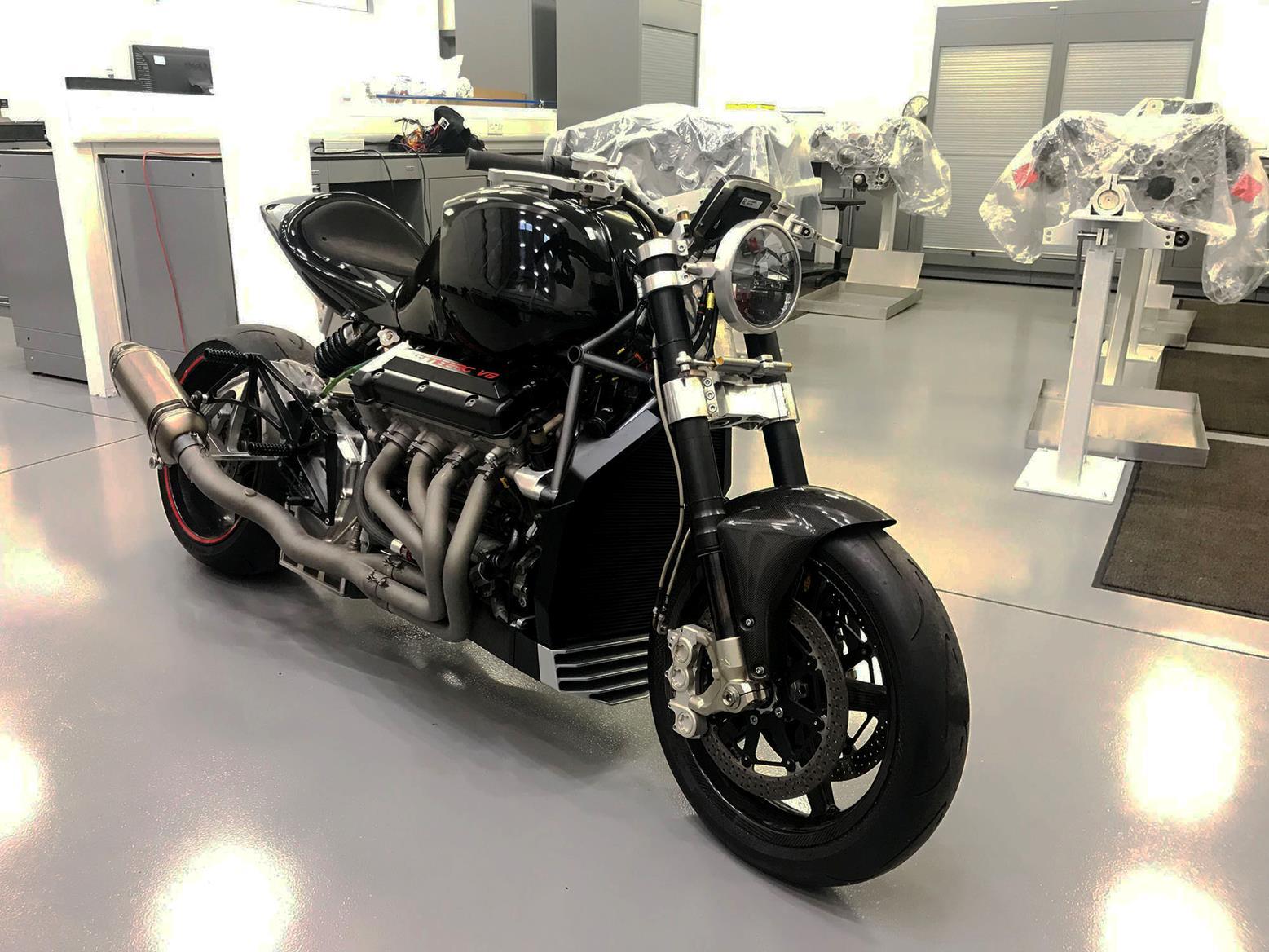 Eisenberg V8 front