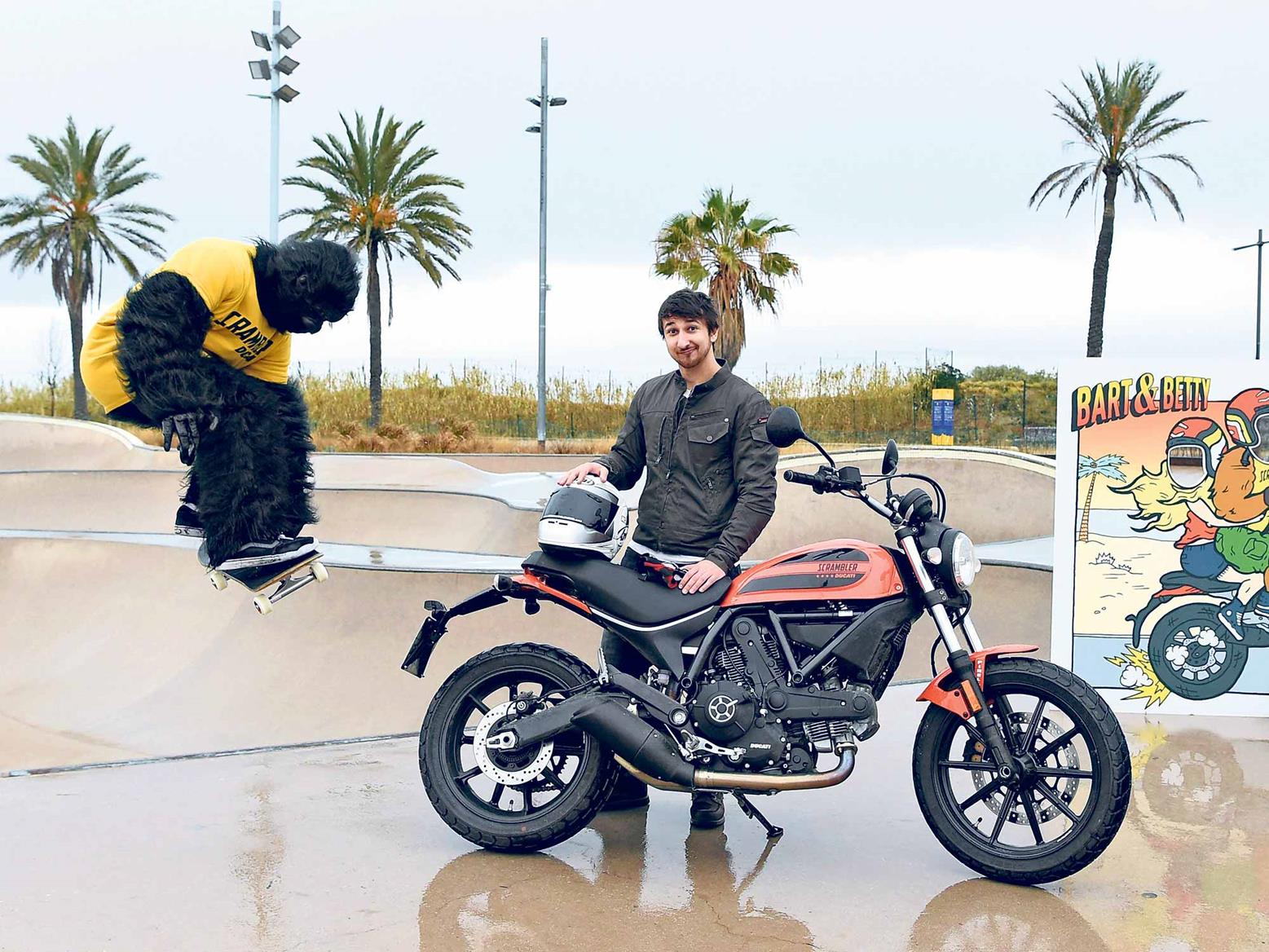 Our man at the Ducati Scrambler Sixty2 launch