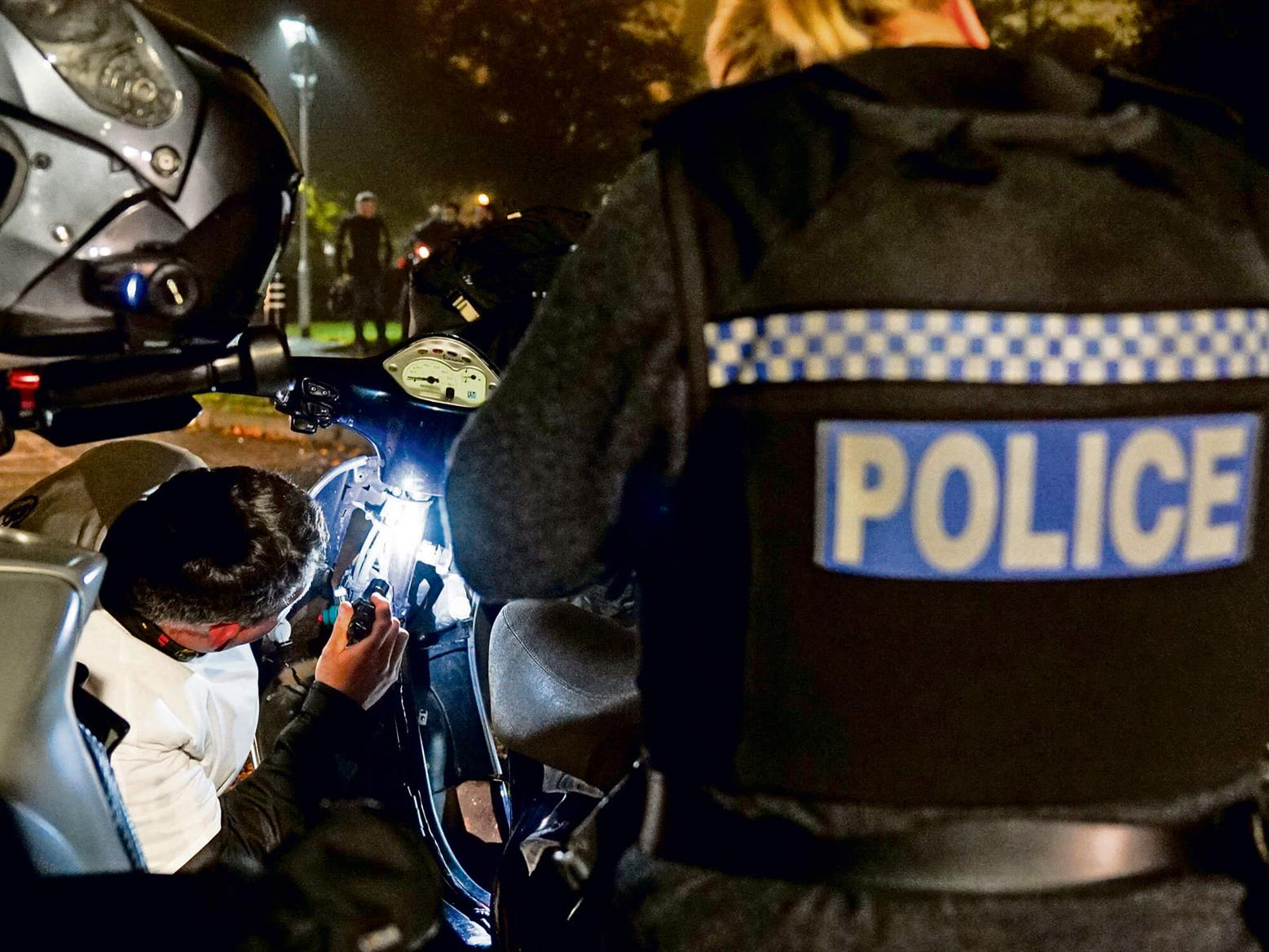 Police work with anti-theft group to recover stolen motorbike