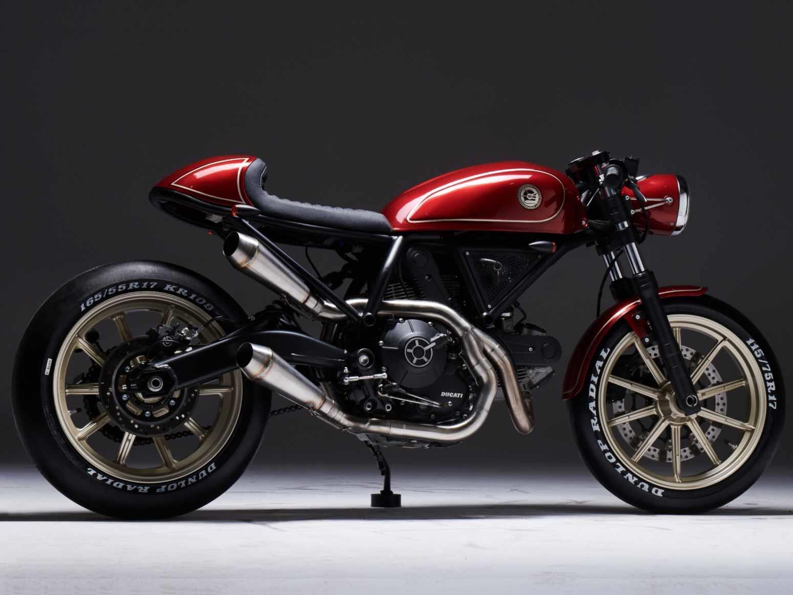 Ducati 'Custom Rumble' finalist bike