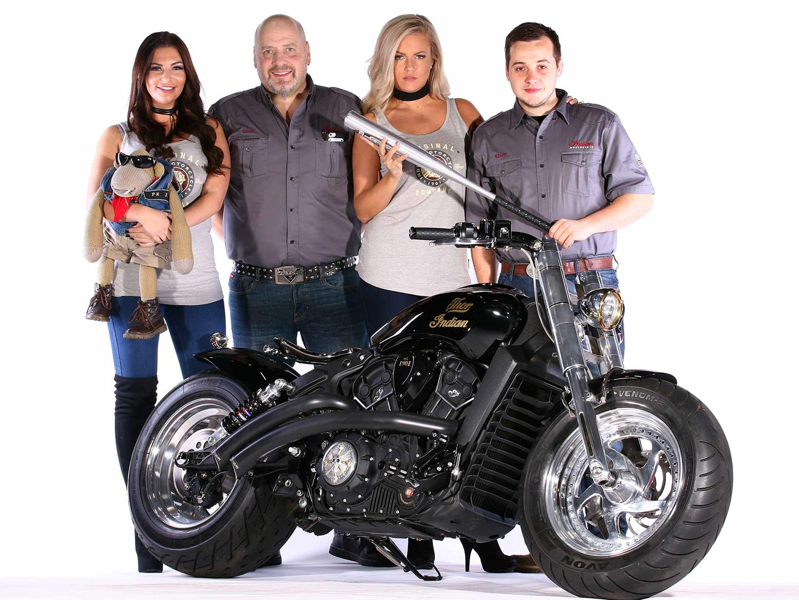 Indian Scout custom competition winner