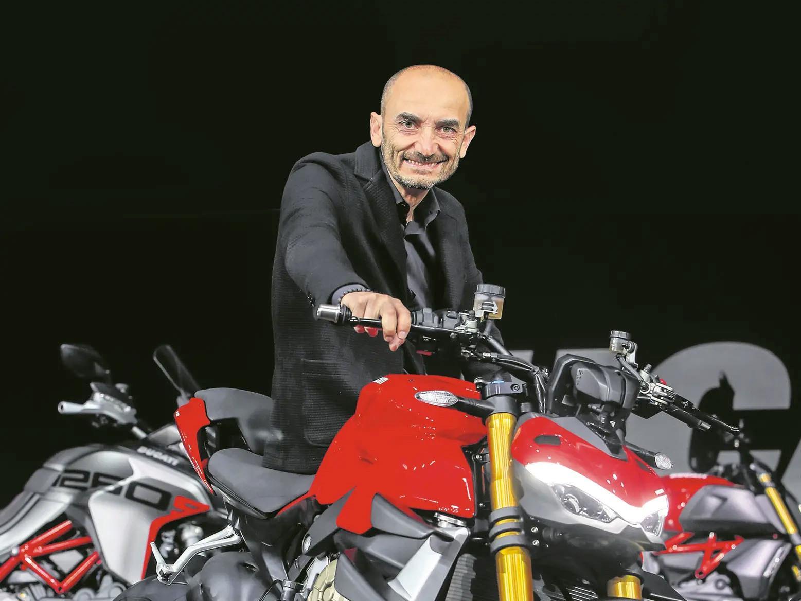 Ducati CEO, Claudio Domenicali
