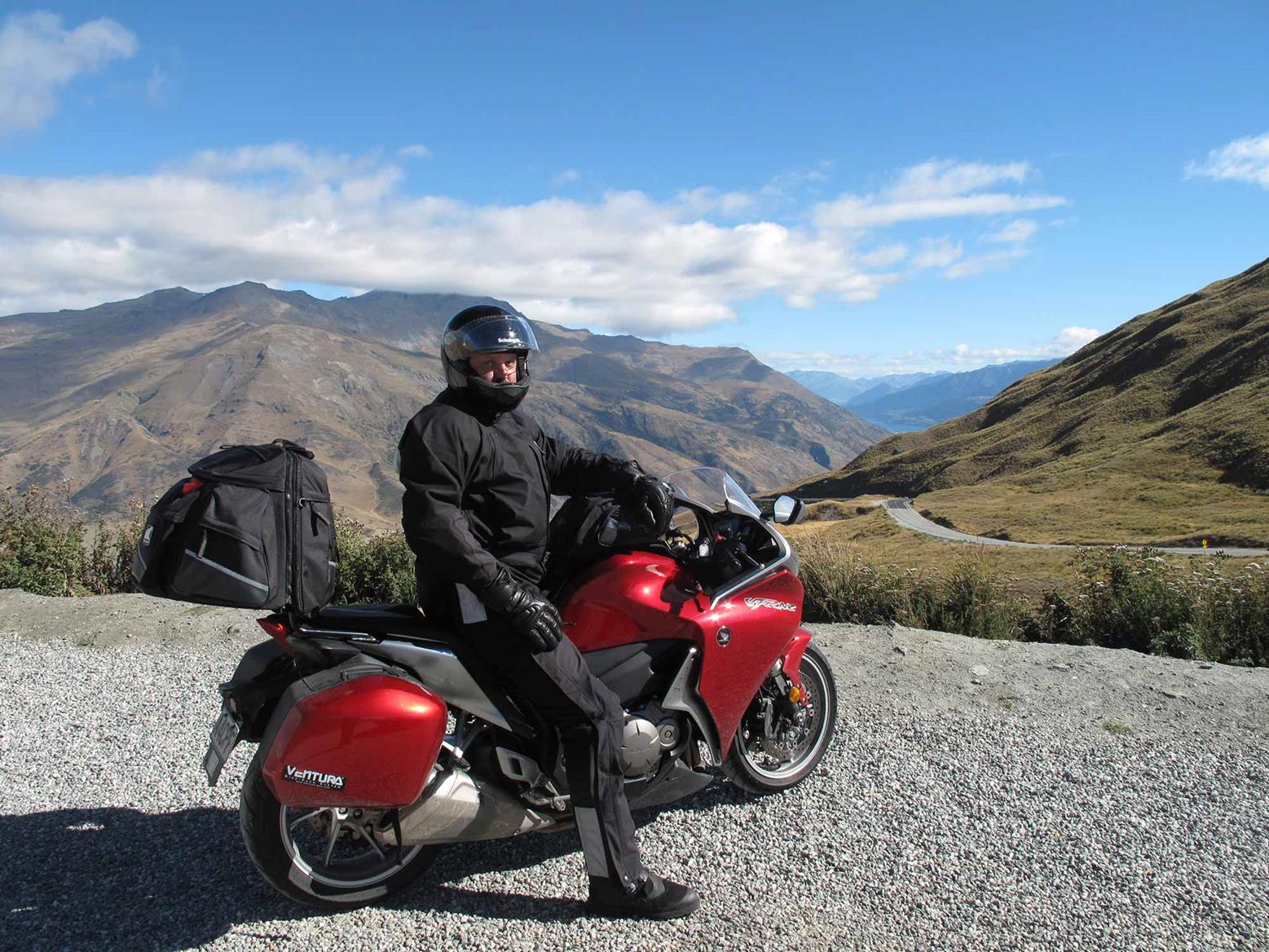 Touring on the VFR1200F DCT