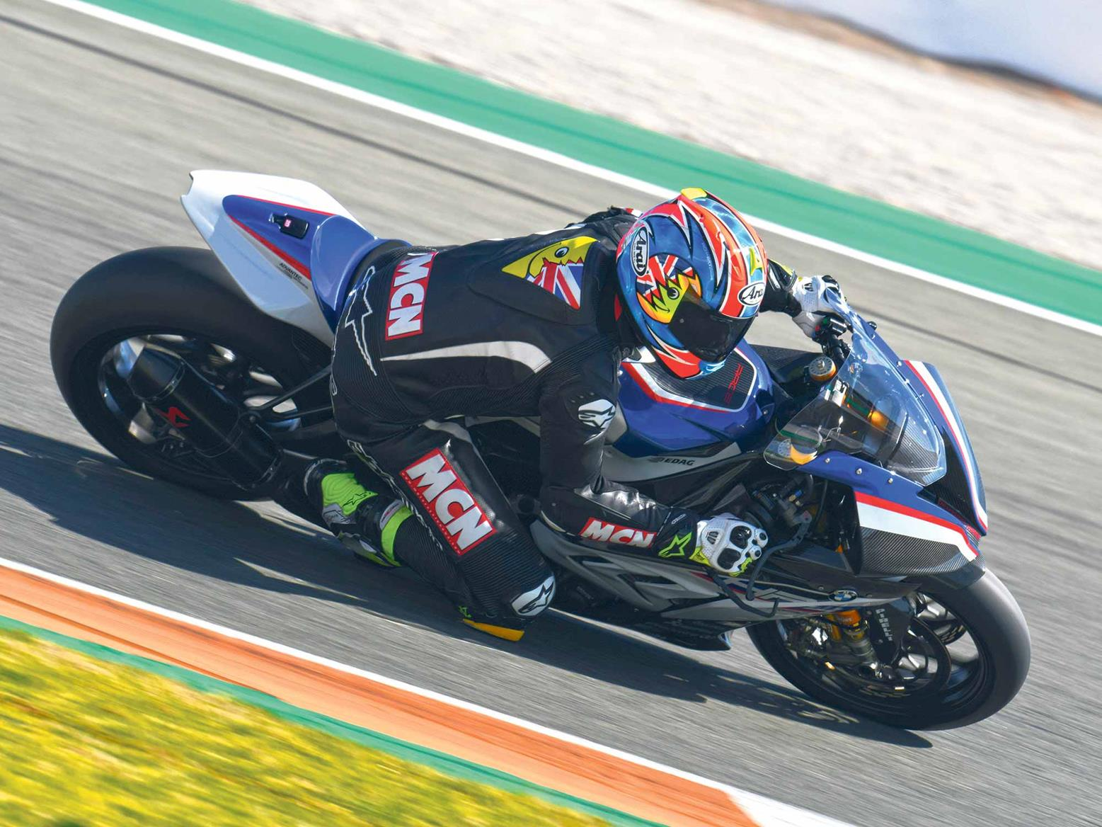 Riding the BMW HP4 Race