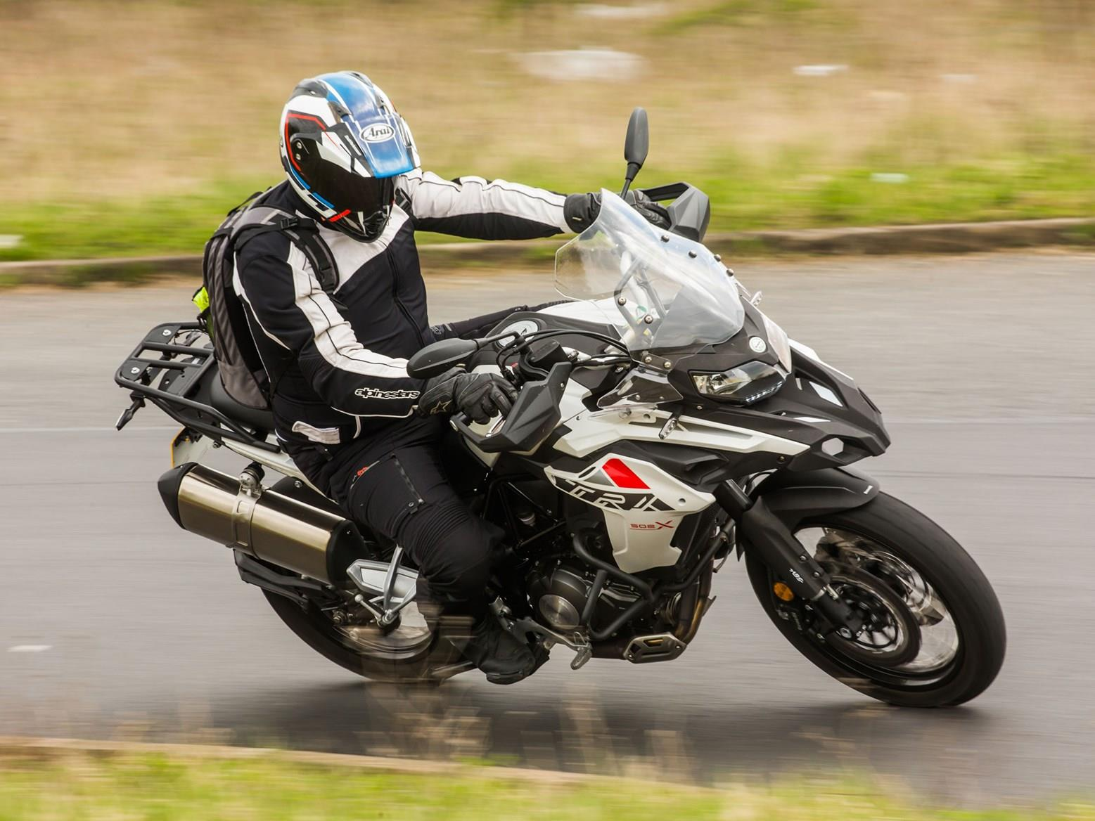 Riding the Benelli TRK 502