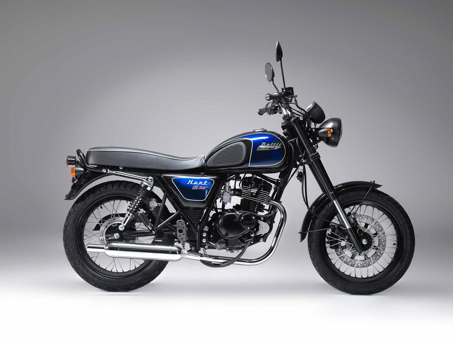 Bullit Hunt S 125 in blue