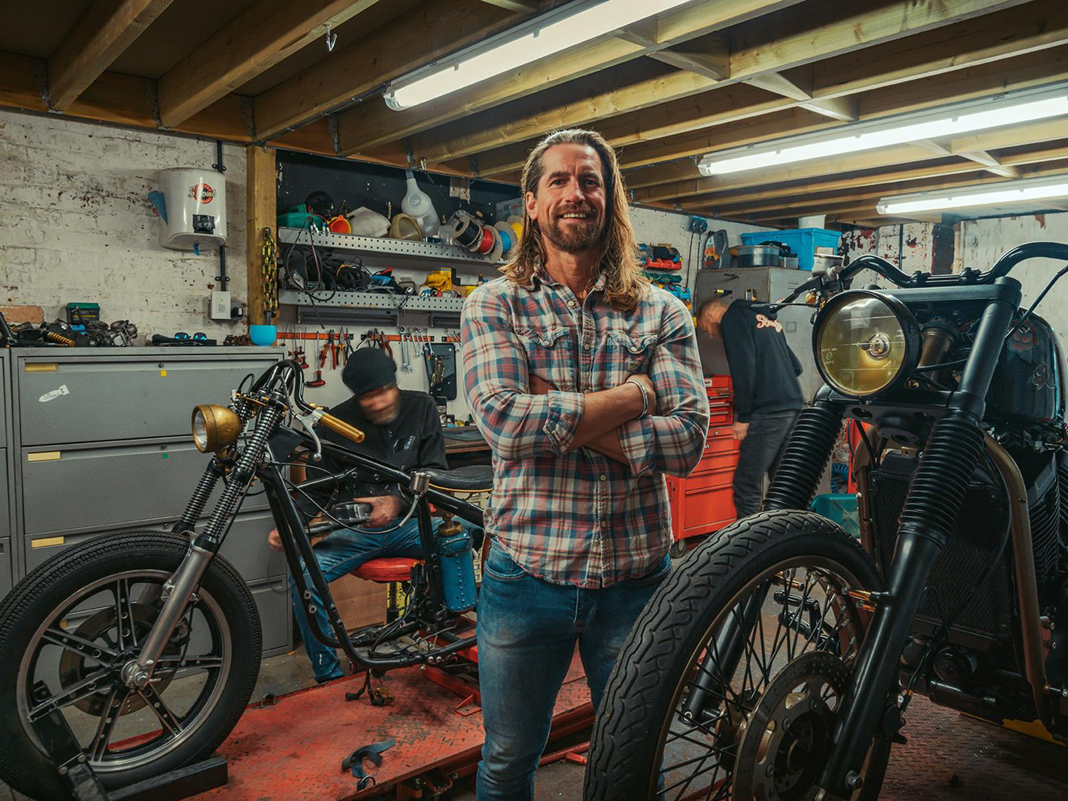 Ex-Special Forces mobility expert turned custom builder Titch Cormack