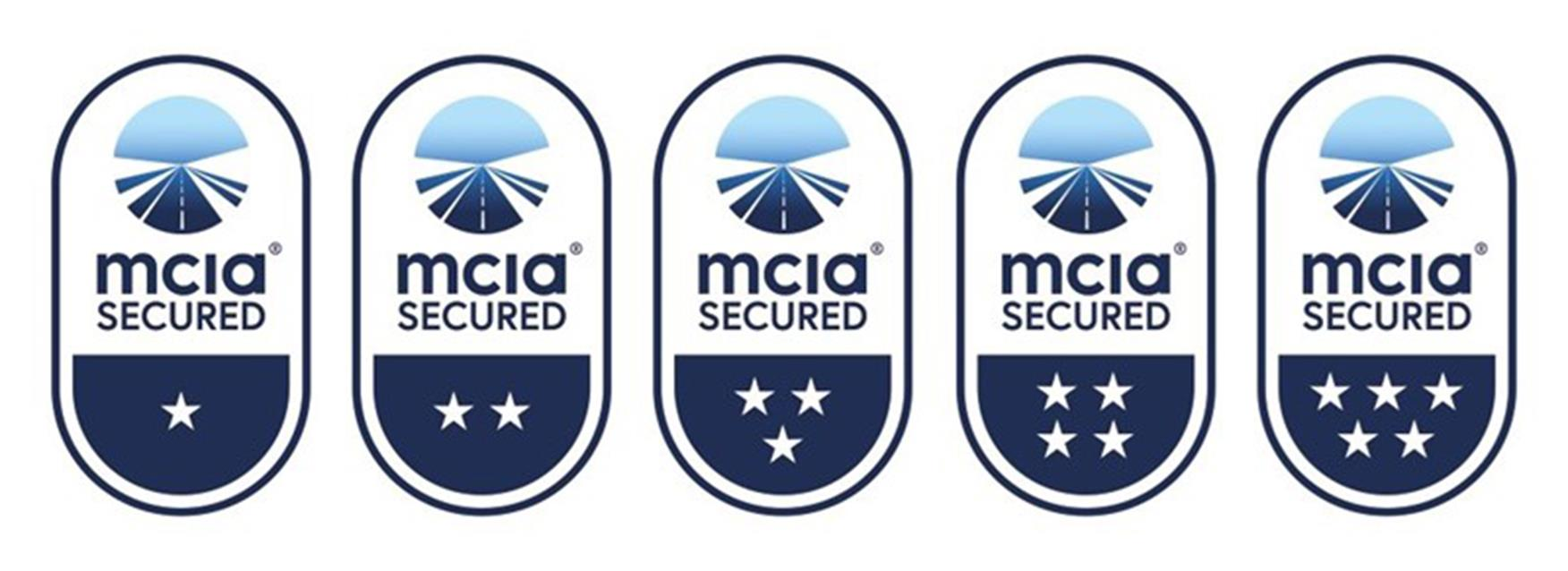 MCIA sold secure star ratings
