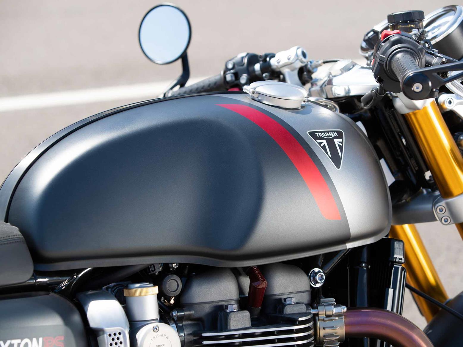 Triumph Thruxton RS petrol tank