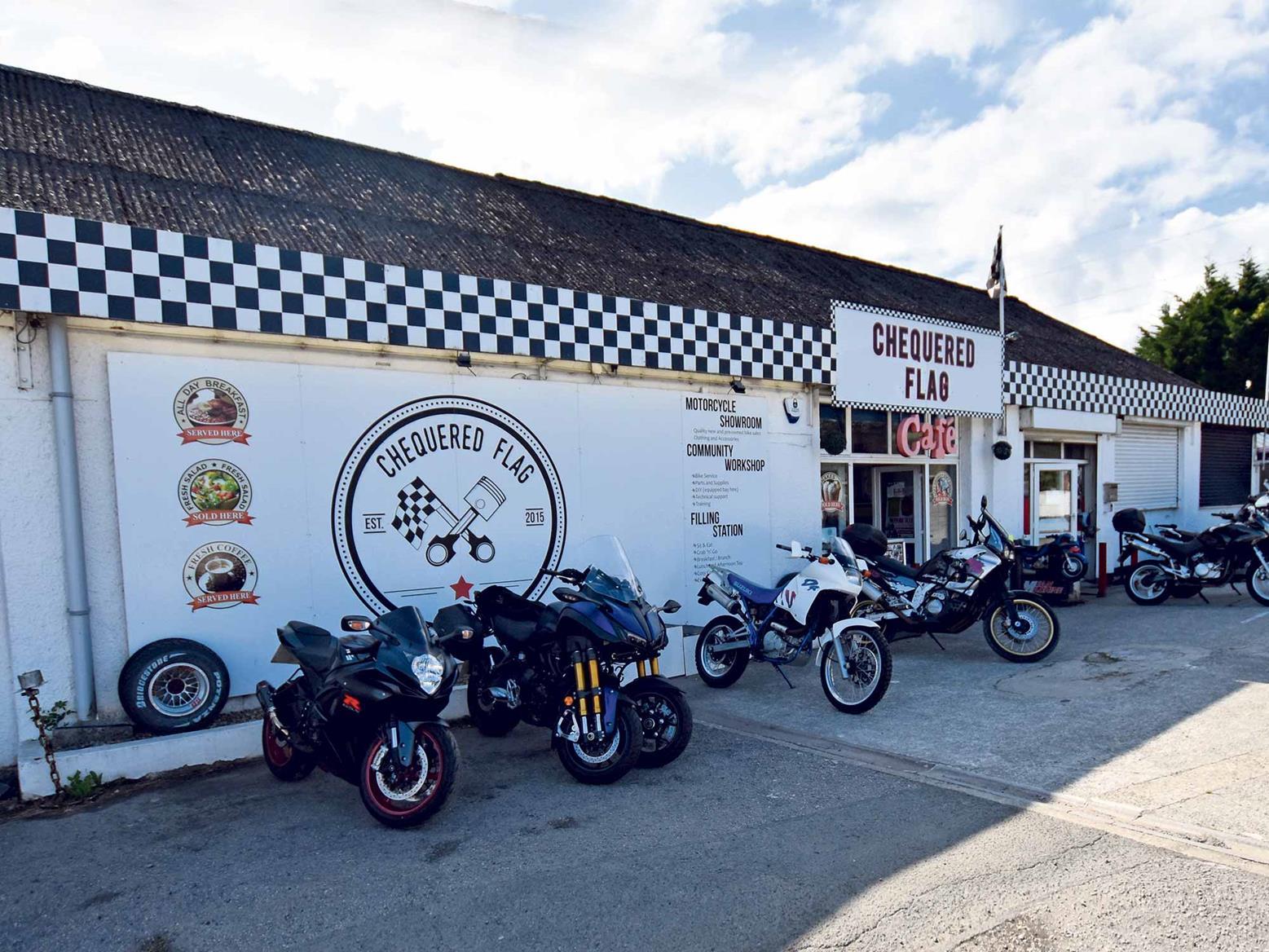 The Chequered Flag Café