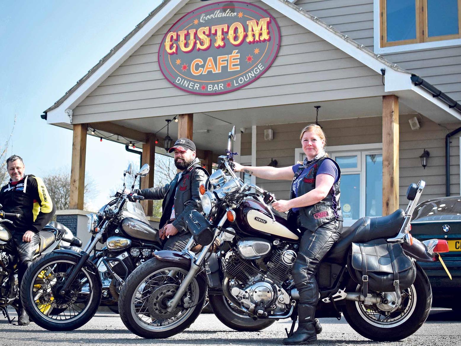 Regulars at The Custom Café