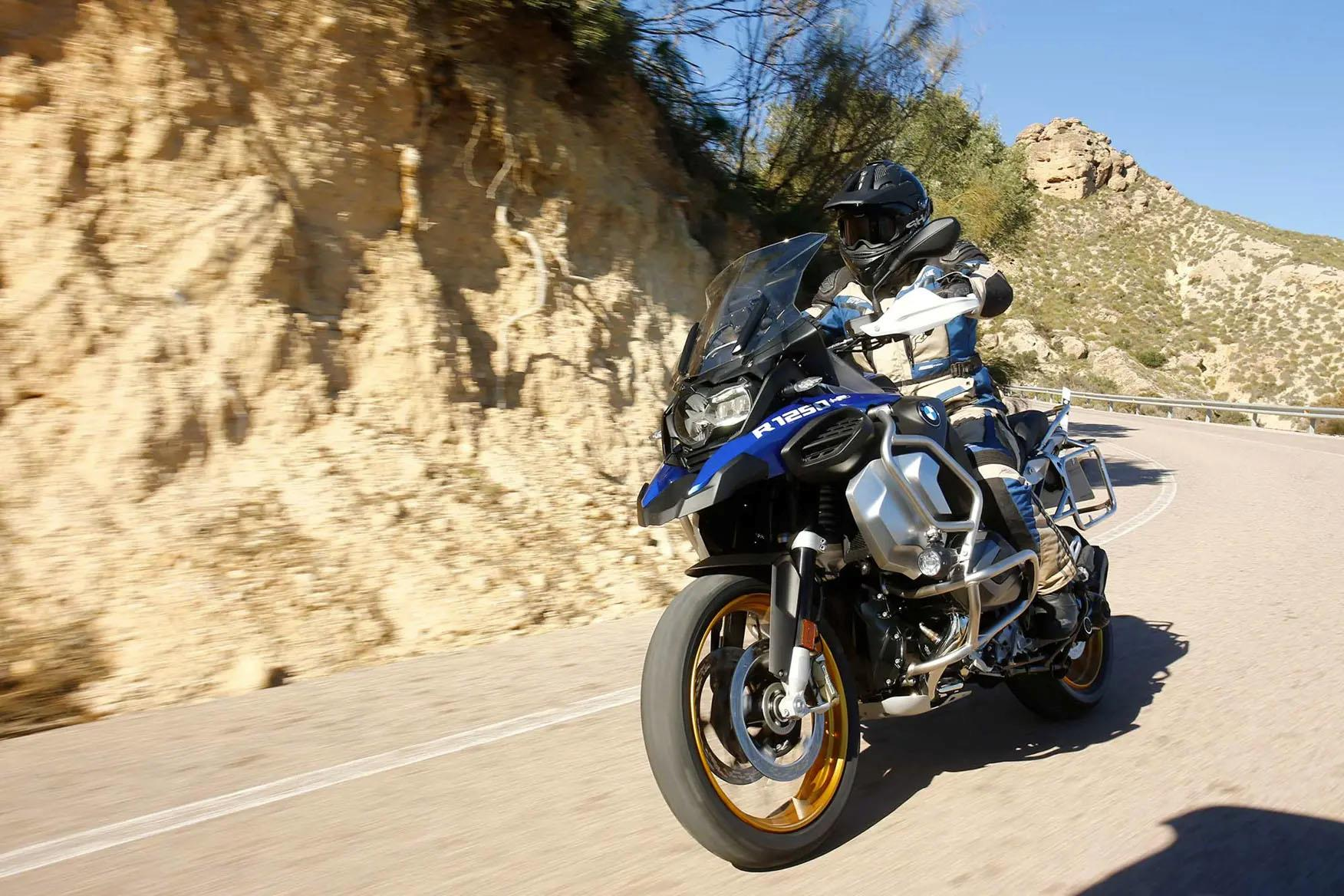 BMW R1250GS Adventure takes over where the BMW 1200 GS left off
