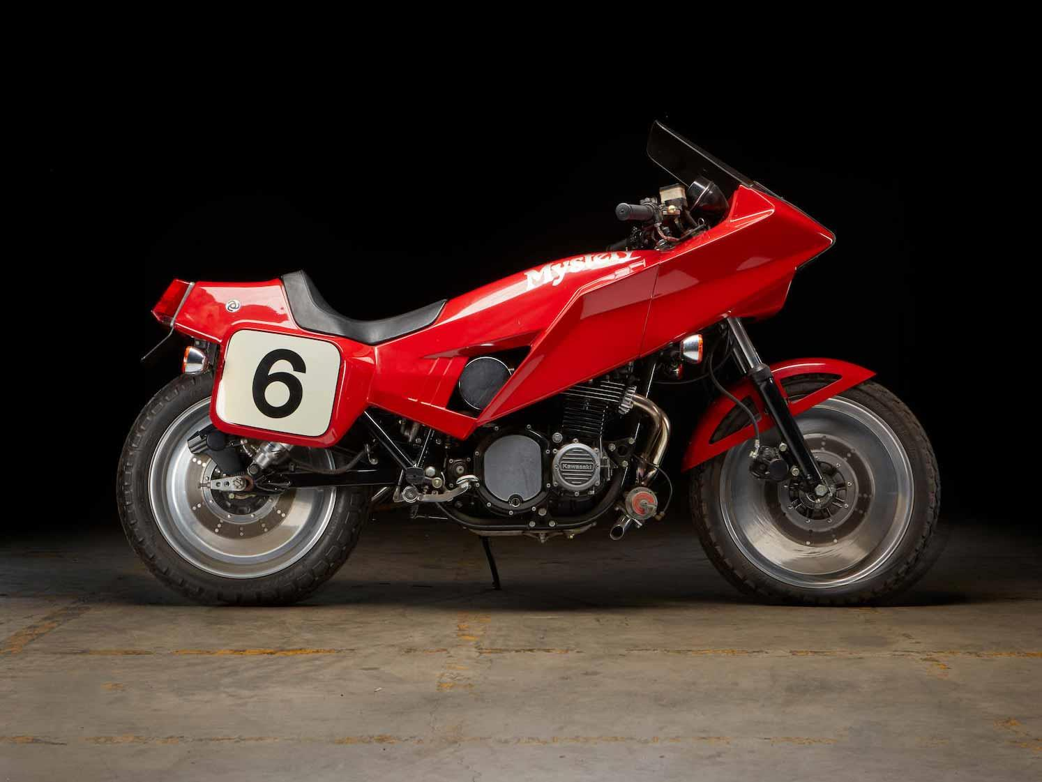 This 1980 Kawasaki Mystery Ship is up for grabs