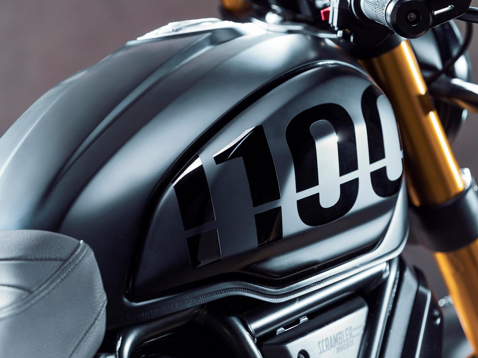 Ducati Scrambler 1100 fuel tank