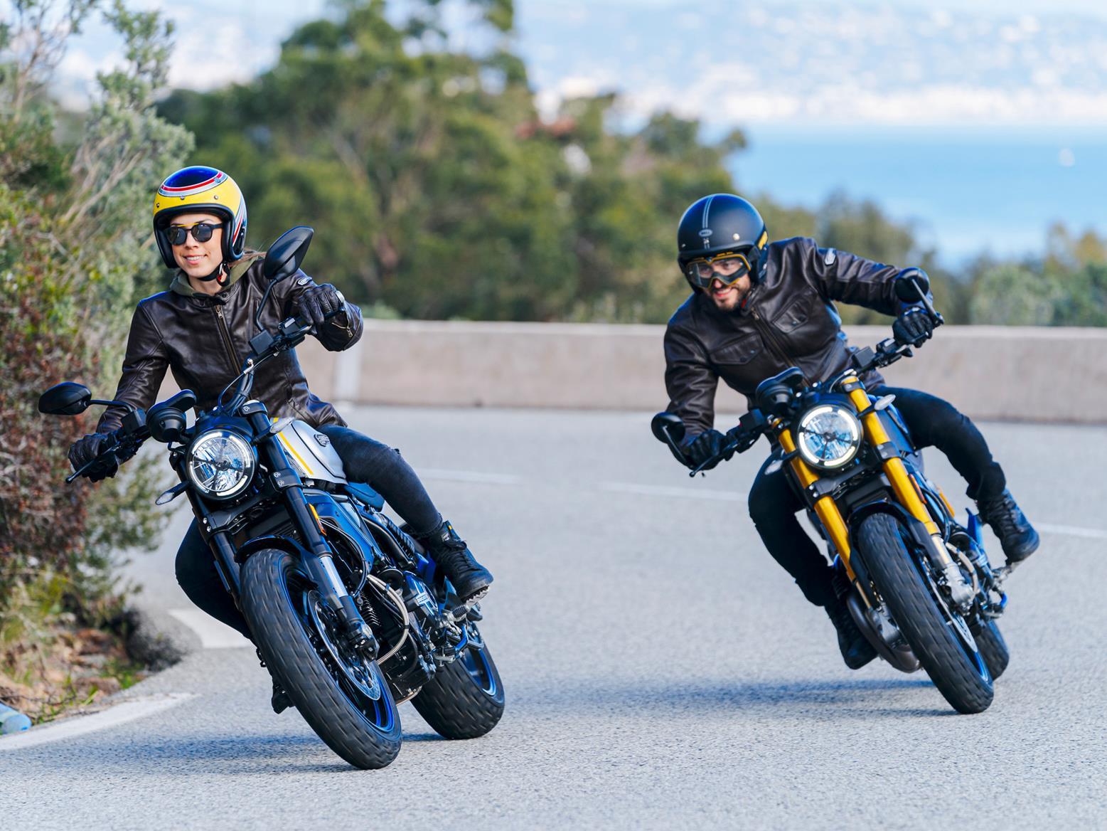 Ducati Scrambler 1100 in both Pro and Sport Pro guises