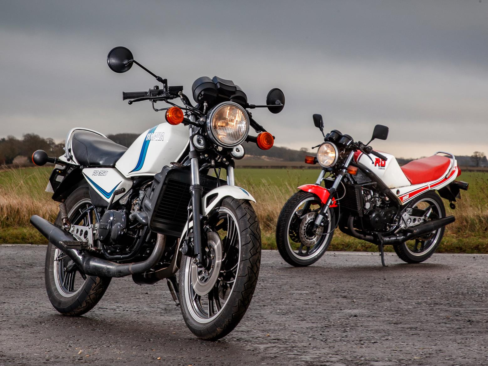1980 Yamaha RD350LC vs 1985 Yamaha RD350N