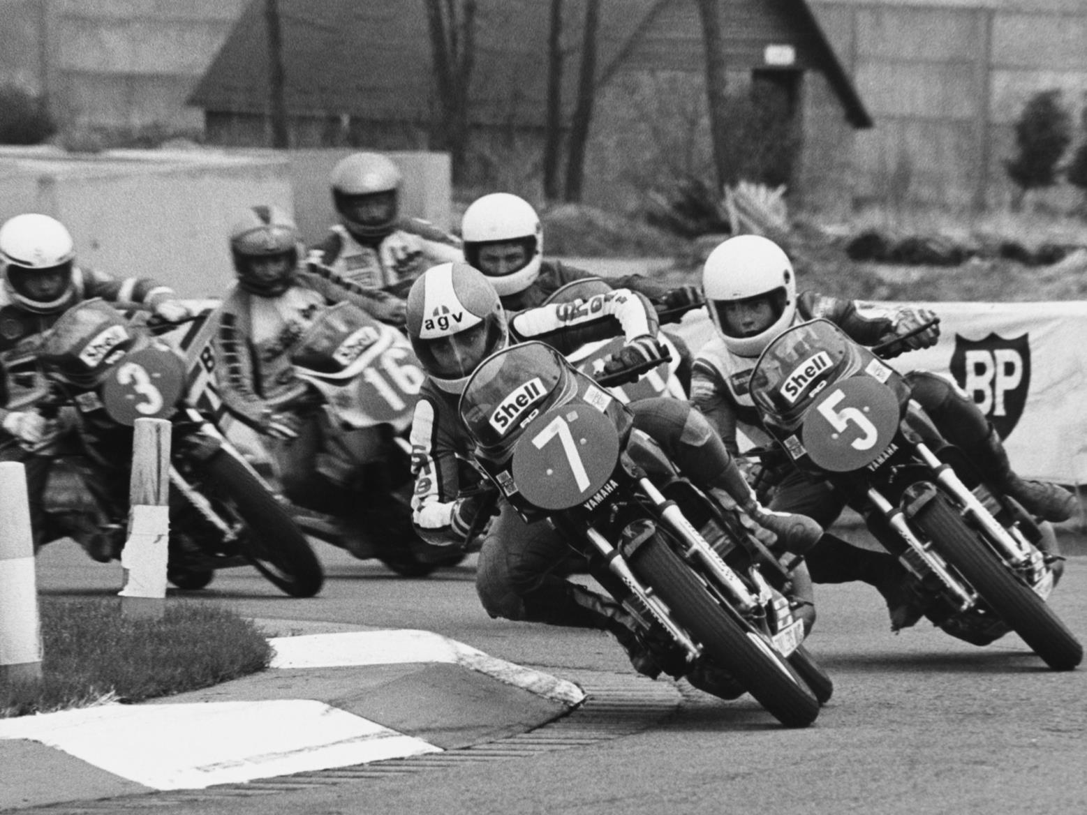 Racing the Yamaha RD350LC