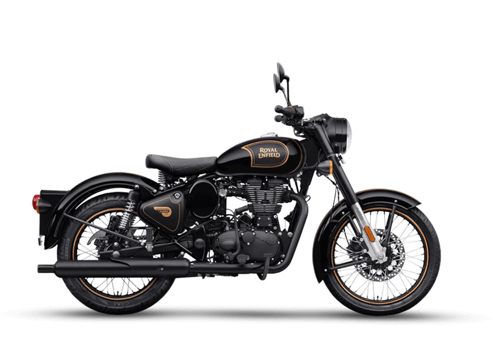 Royal Enfield Classic Tribute Black side view