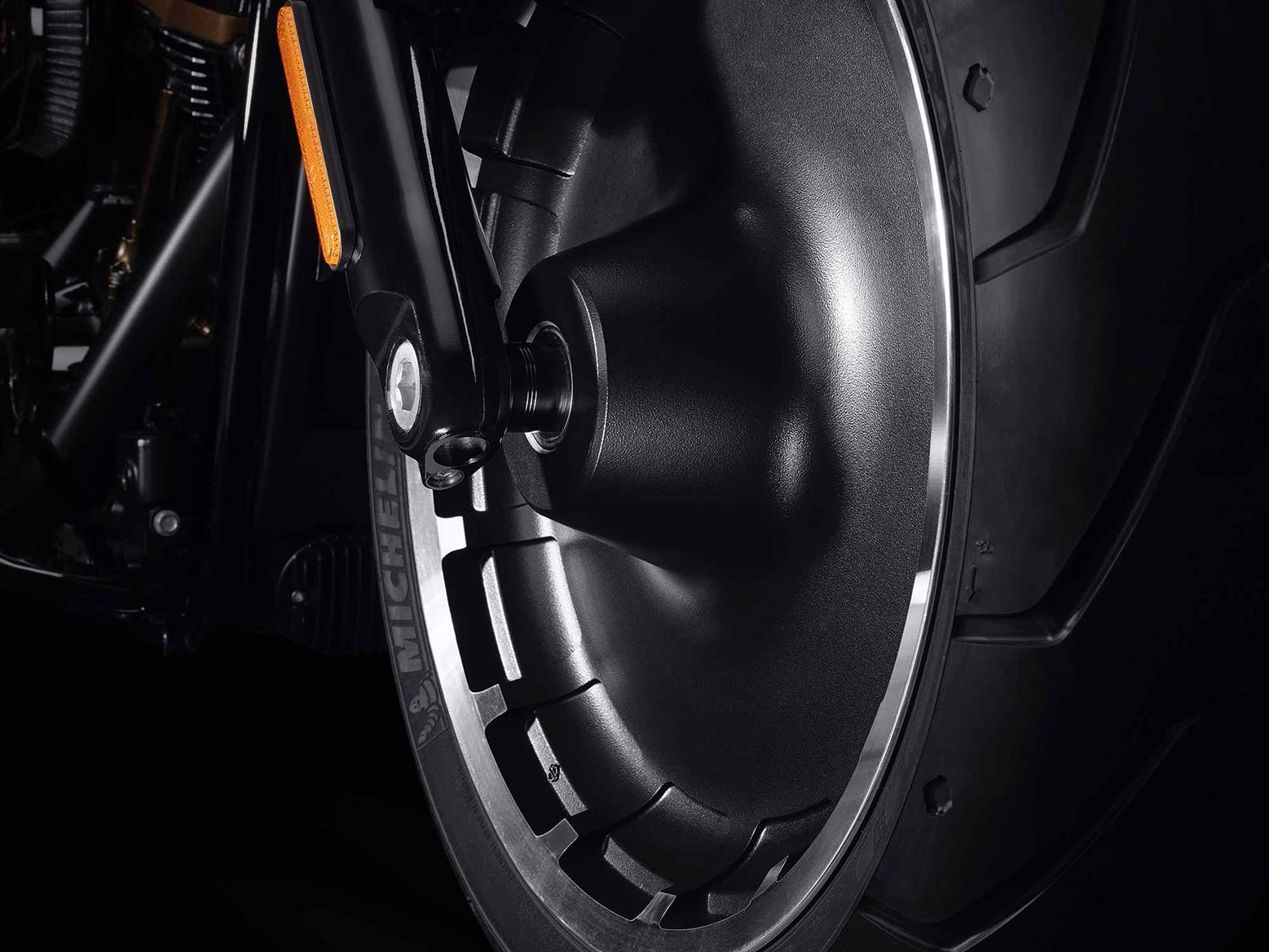 Solid 'Lakester' rims feature on the special