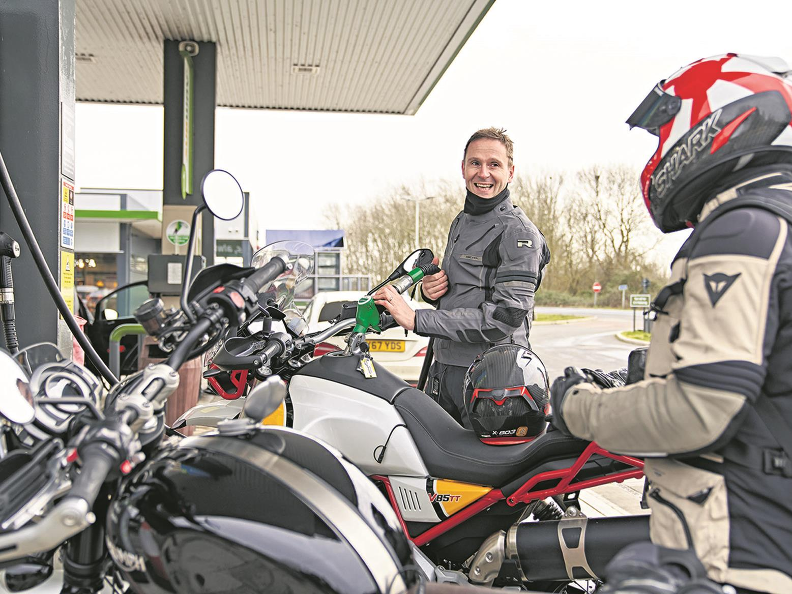Petrol motorbikes could be on borrowed time