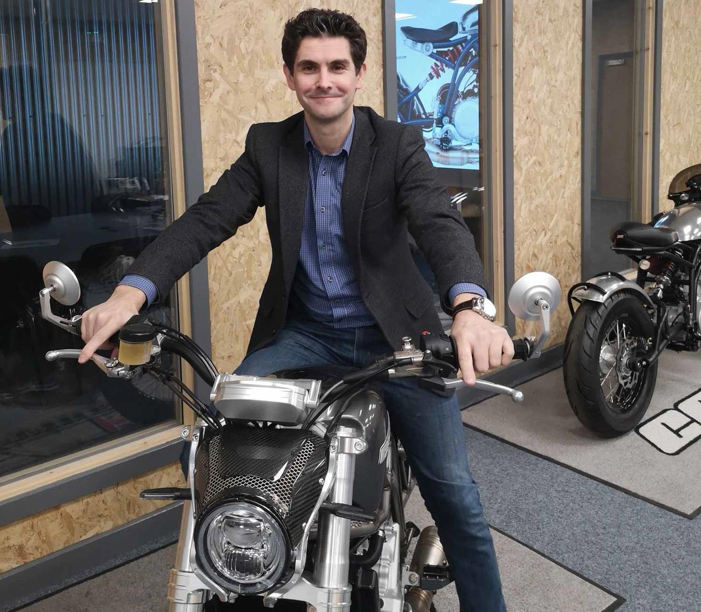 Scott Lanzi joins CCM from Bentley Motors