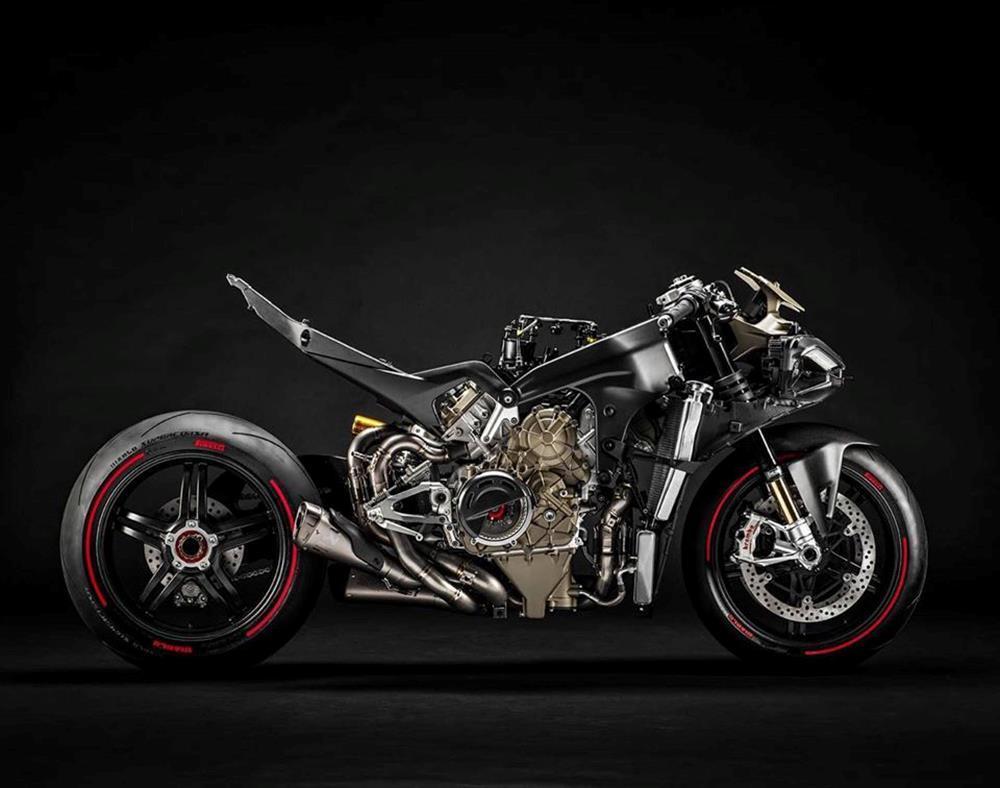 Ducati Superleggera V4 laid bare