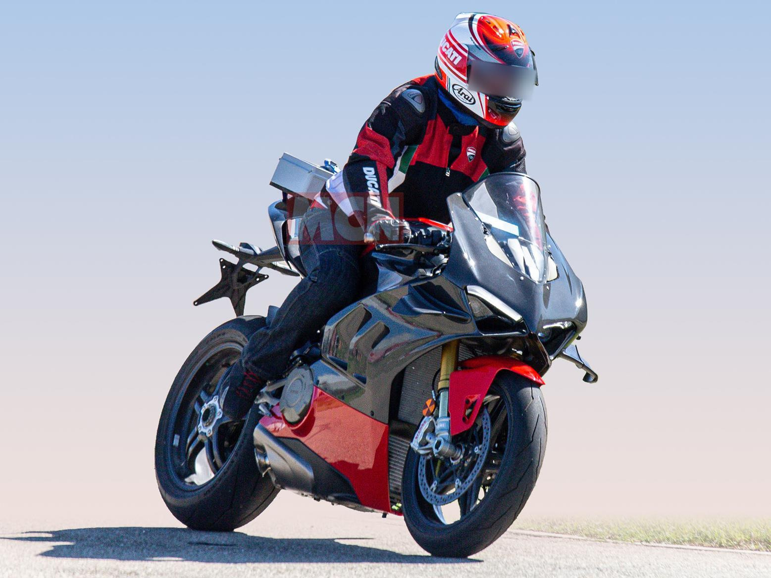 Check out the aero fins on this new special-edition Ducati Panigale V4 Superleggera