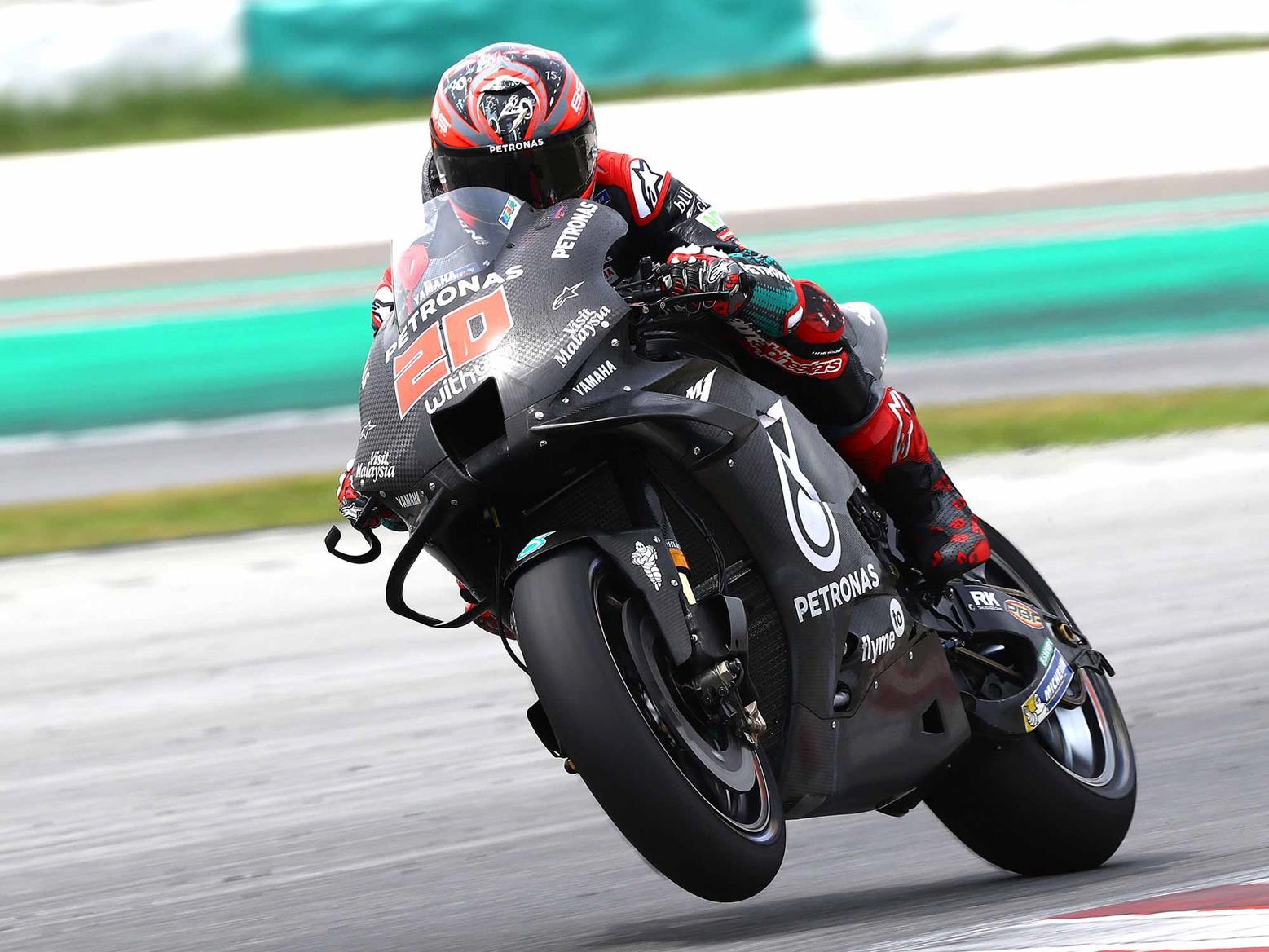 Quartararo tops day two on the 2020 M1