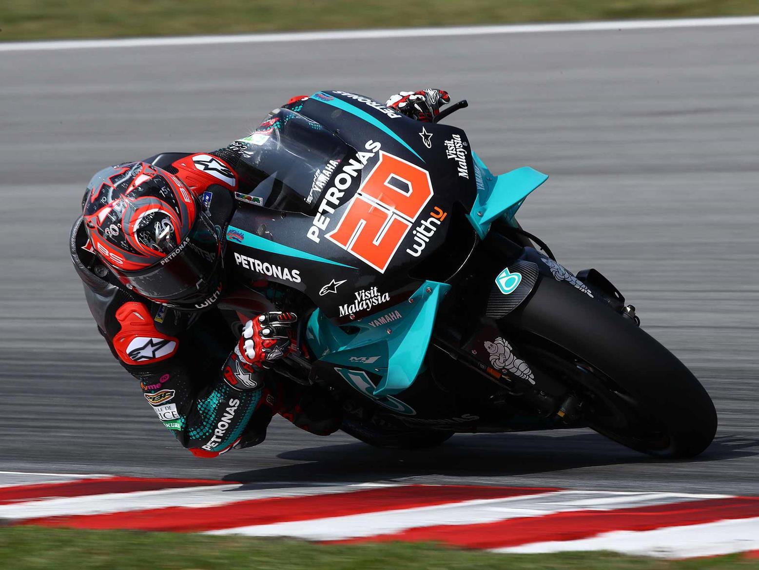 Quartararo tops day one of Sepang Test