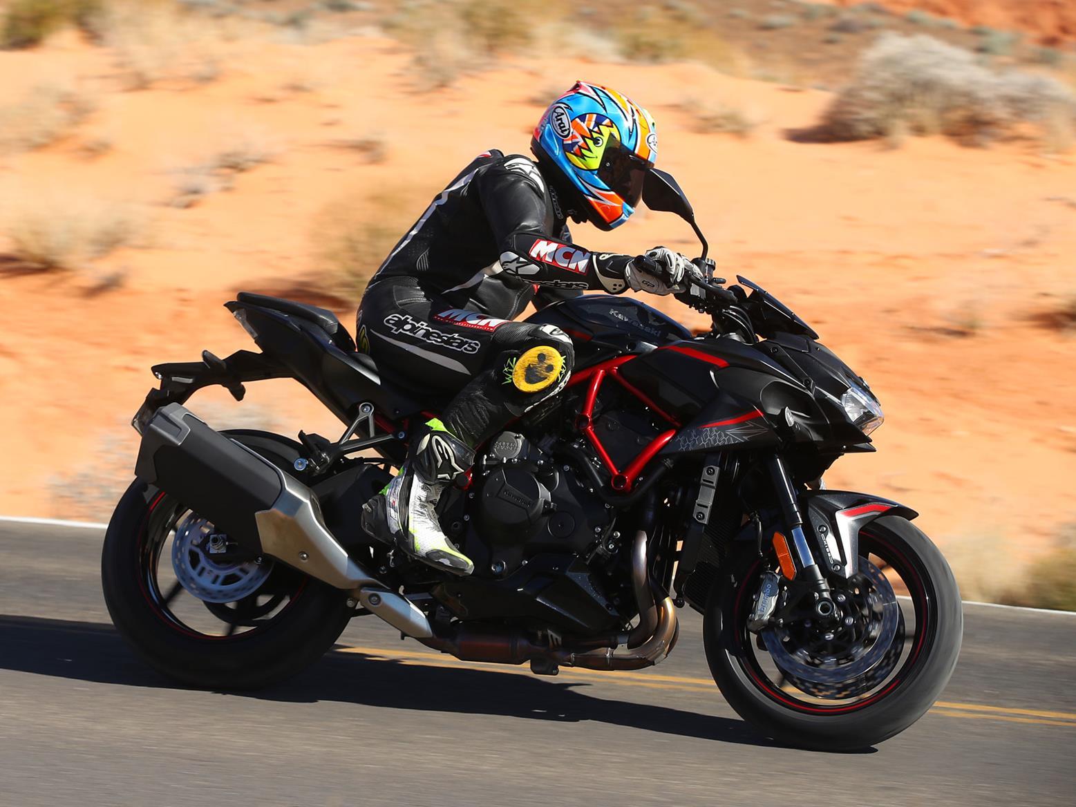 Riding the 2020 Kawasaki Z H2