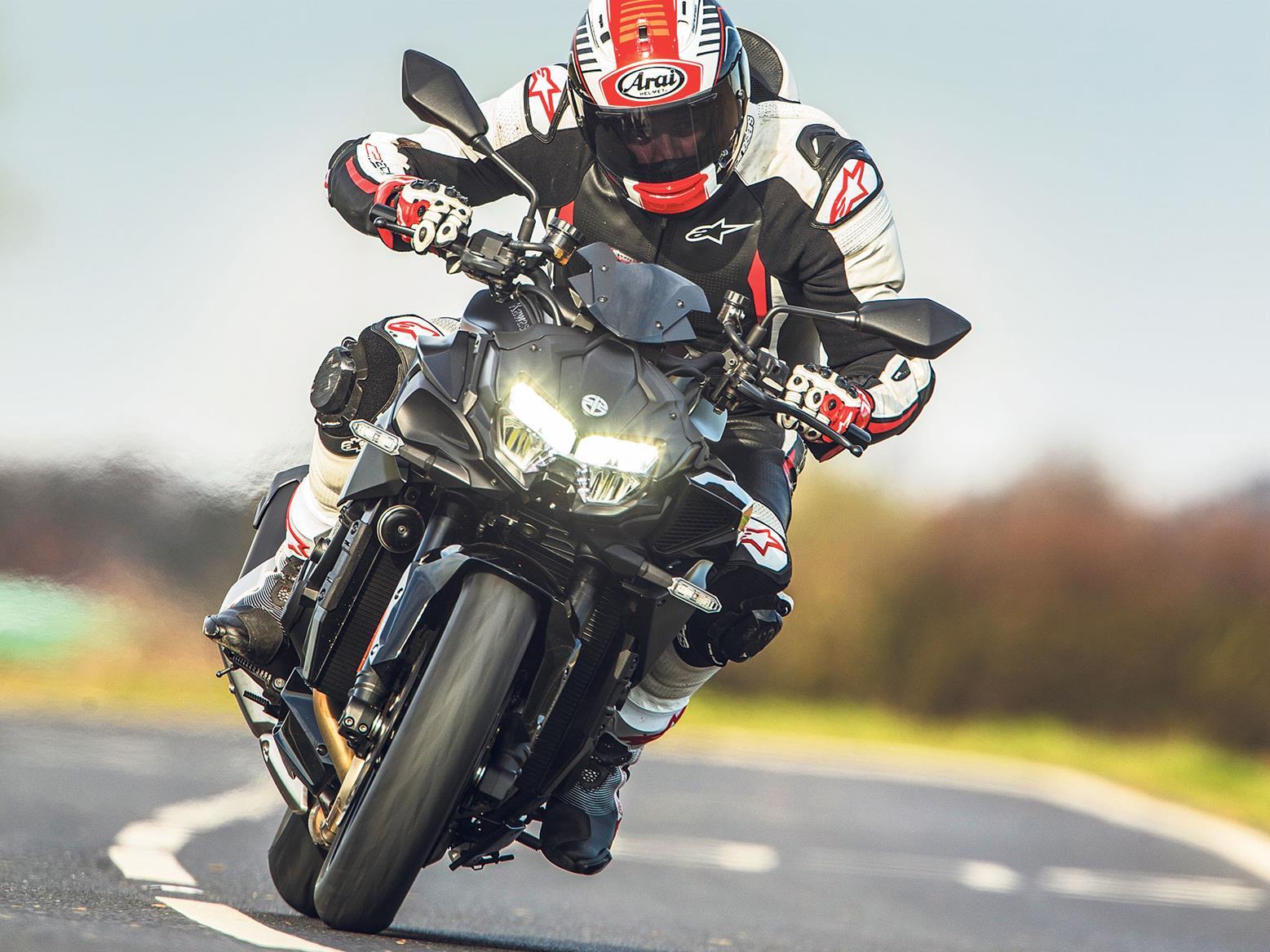 John McAvoy rides the Kawasaki Z H2