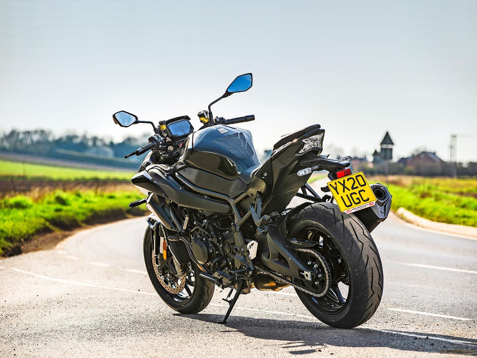 Kawasaki Z H2 on UK roads