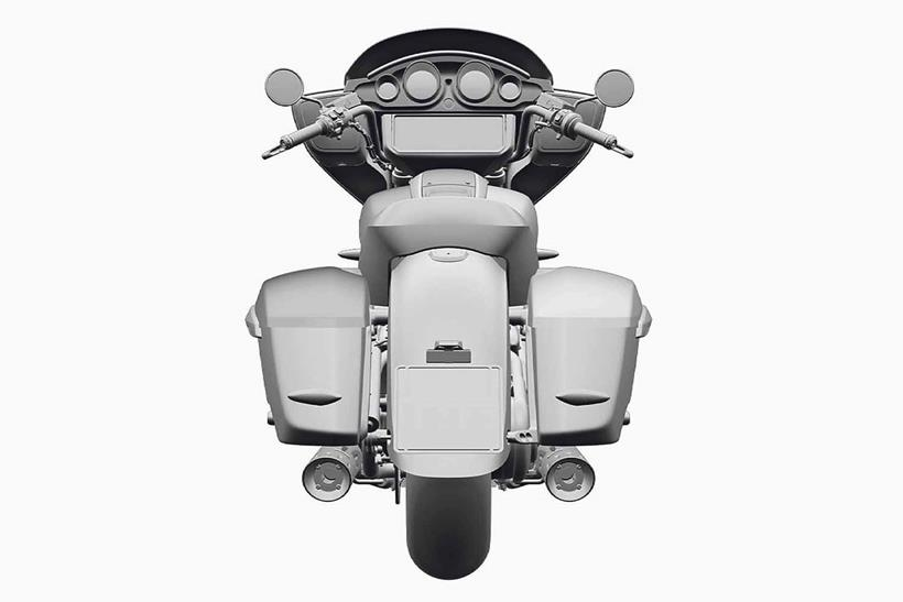 Hard luggage adds touring credentials to the BMW R18 range
